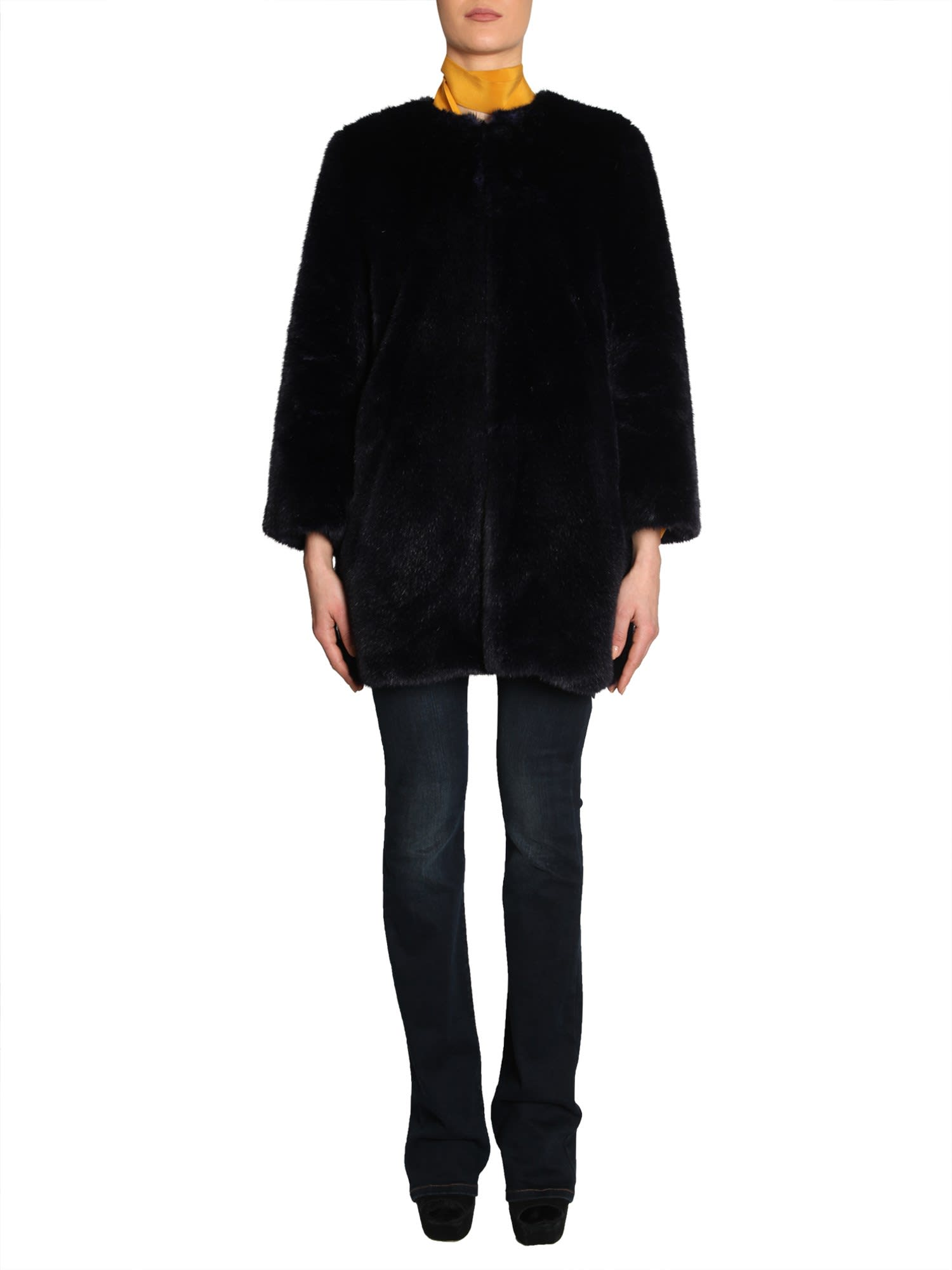 MICHAEL Michael Kors Eco Fur Coat