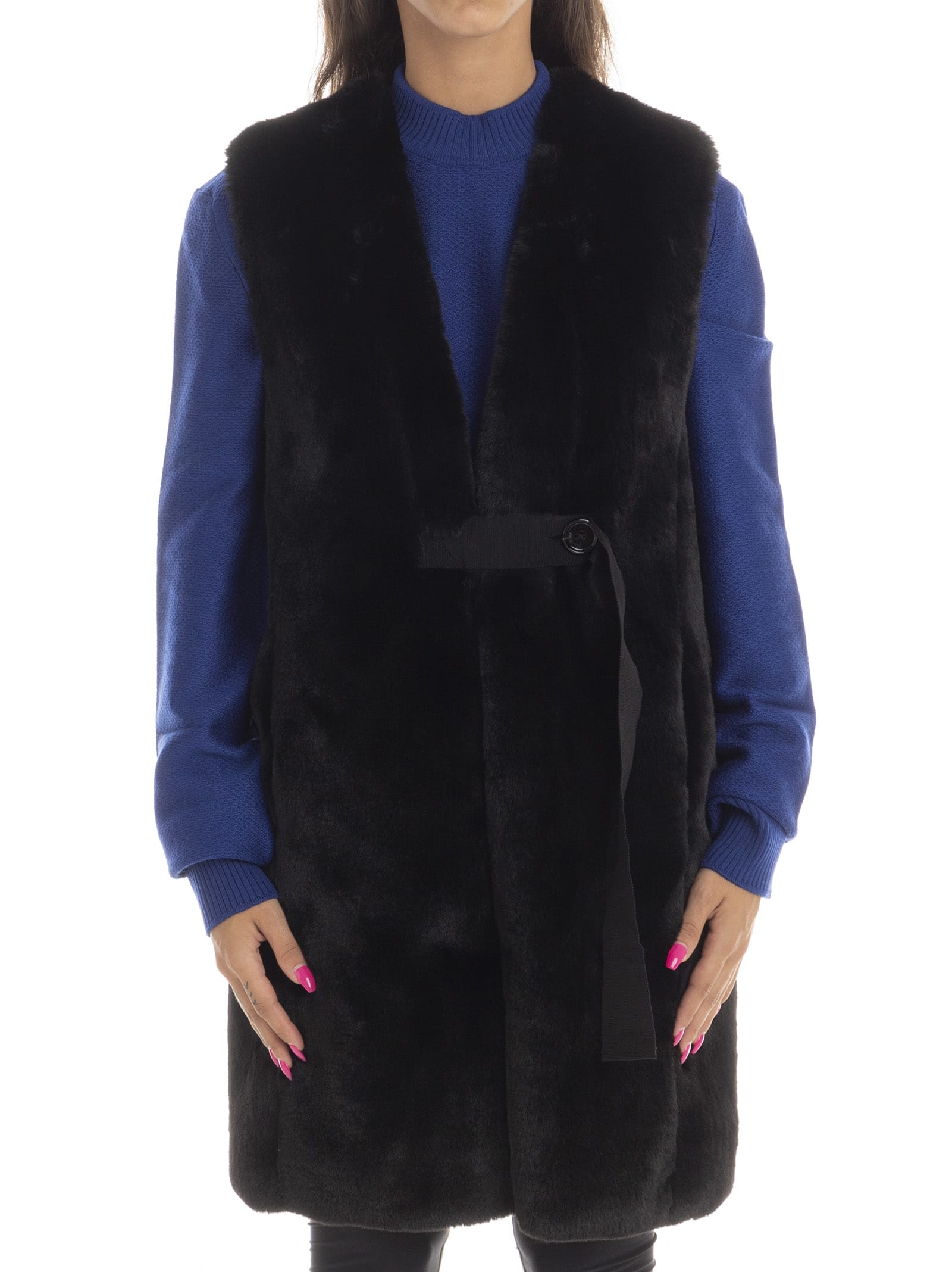 Golden Goose Fur Vest Aiko