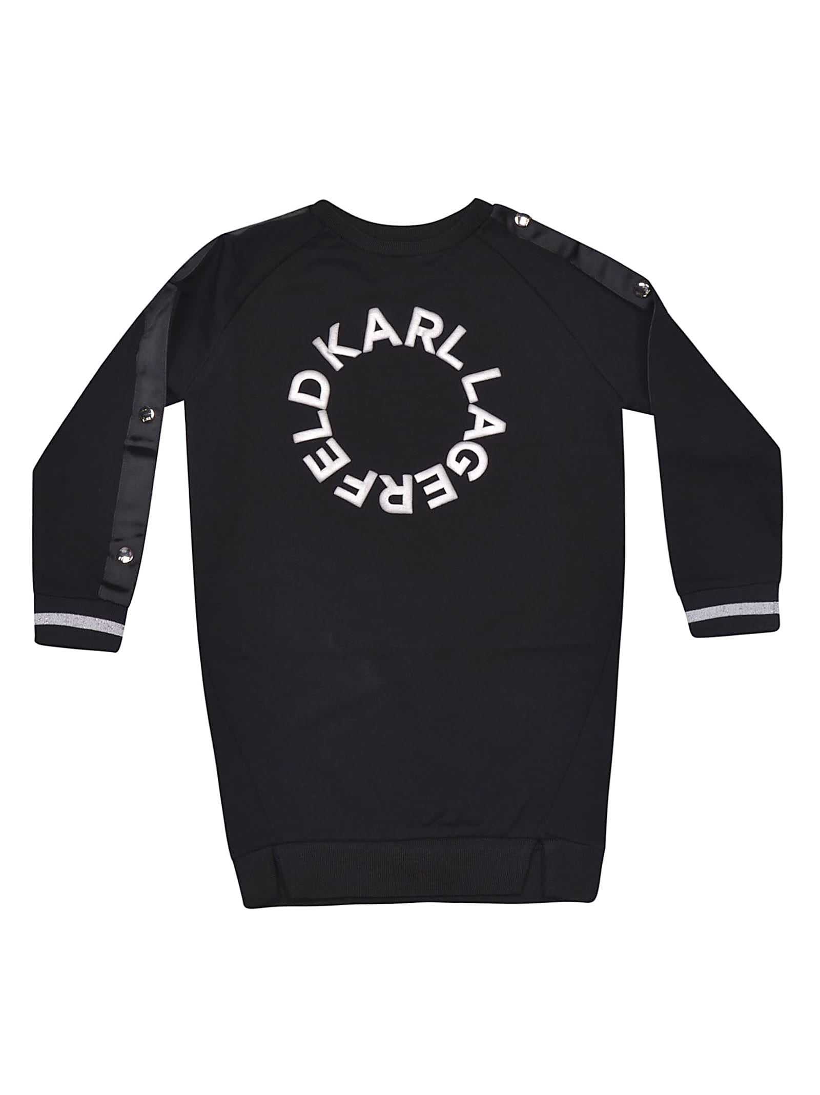 Karl Lagerfeld Kids Logo Print Dress