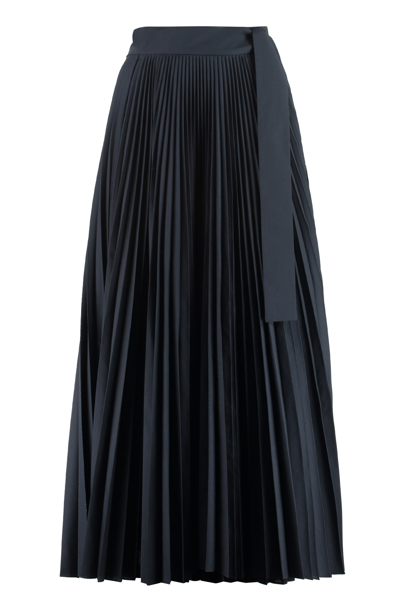Parosh Pope Pleated Skirt