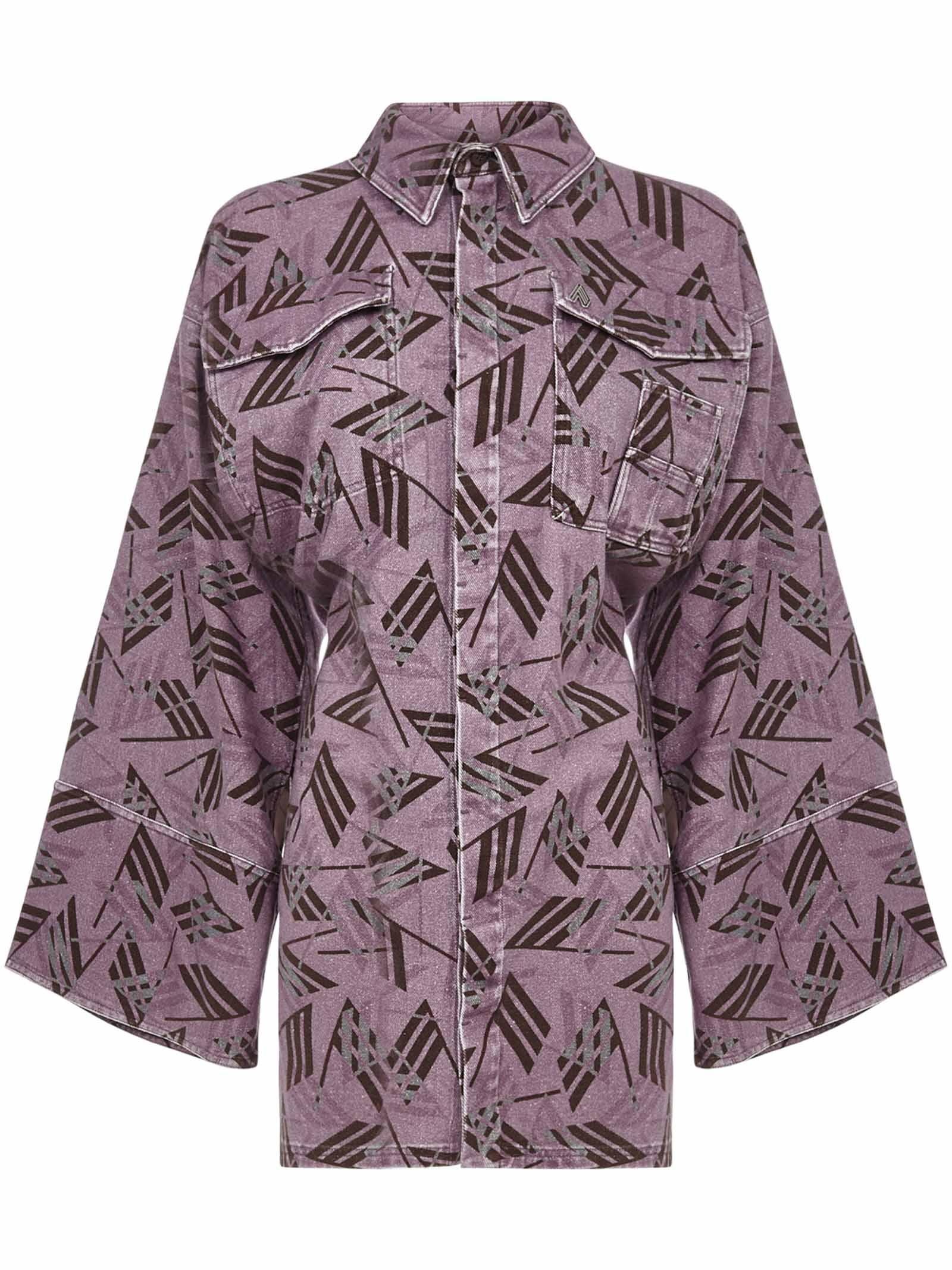 Buy Dakota Mini Dress online, shop The Attico with free shipping