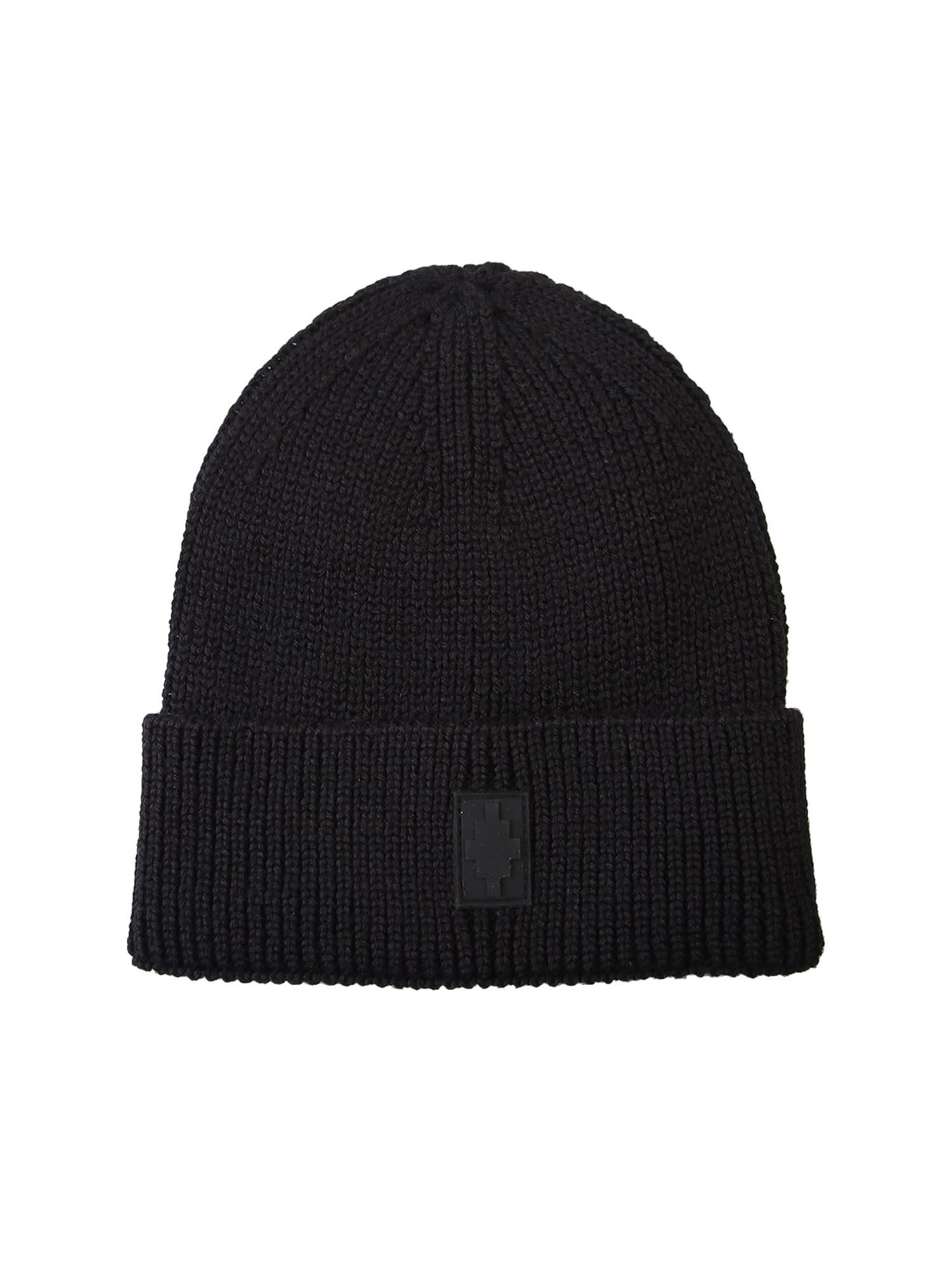 Marcelo Burlon Branded Beanie Hat