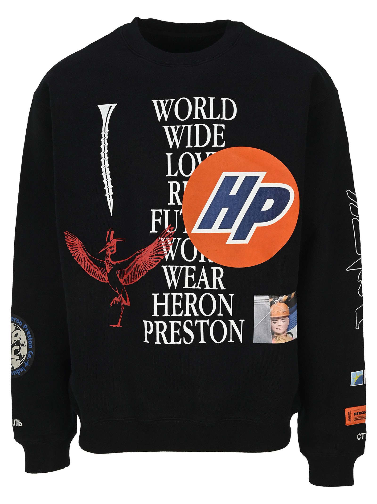 HERON PRESTON Heron Preston Collage Sweatshirt