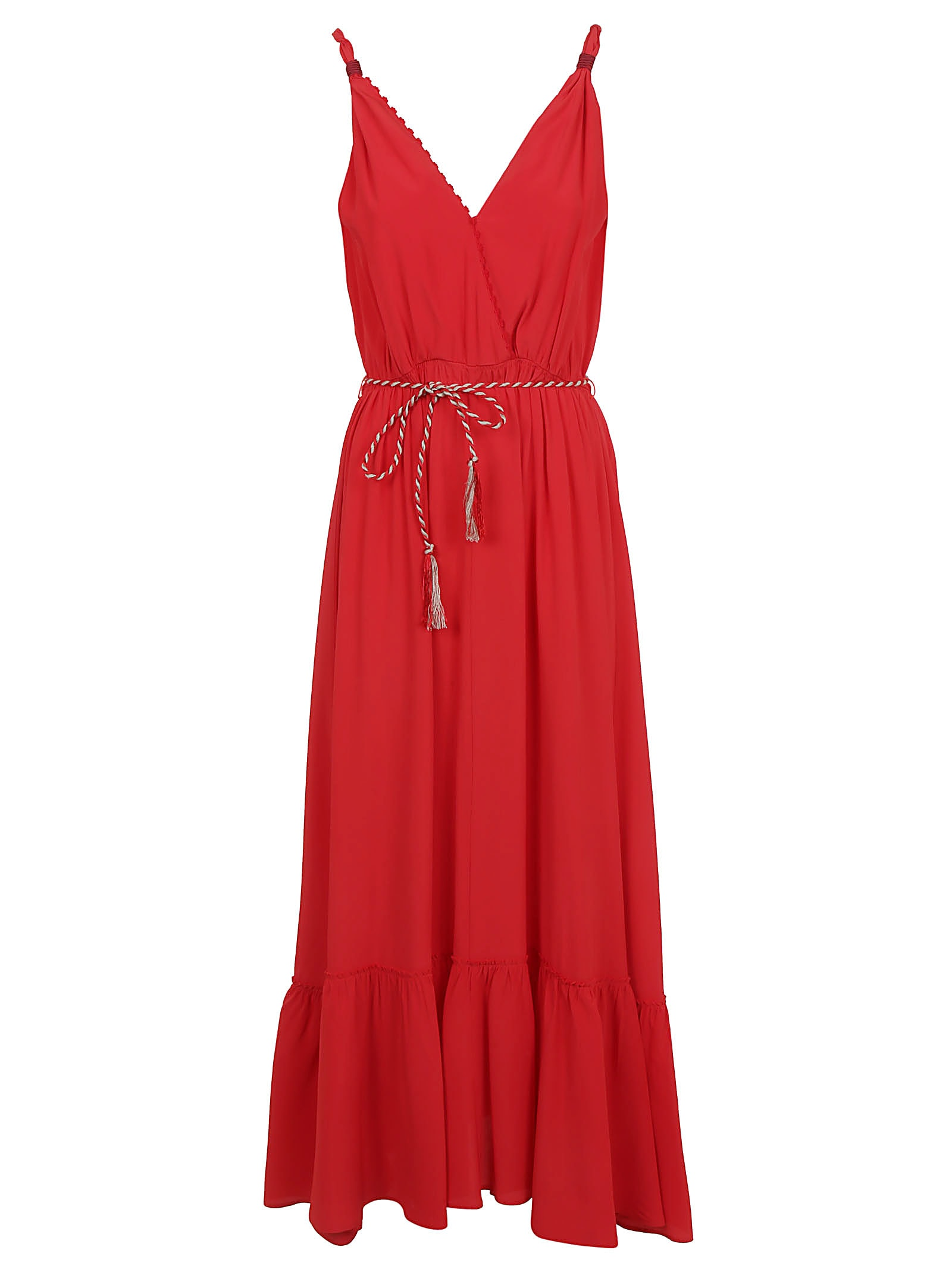 Buy Forte Forte Embroidered Dress With Flounce online, shop Forte Forte with free shipping