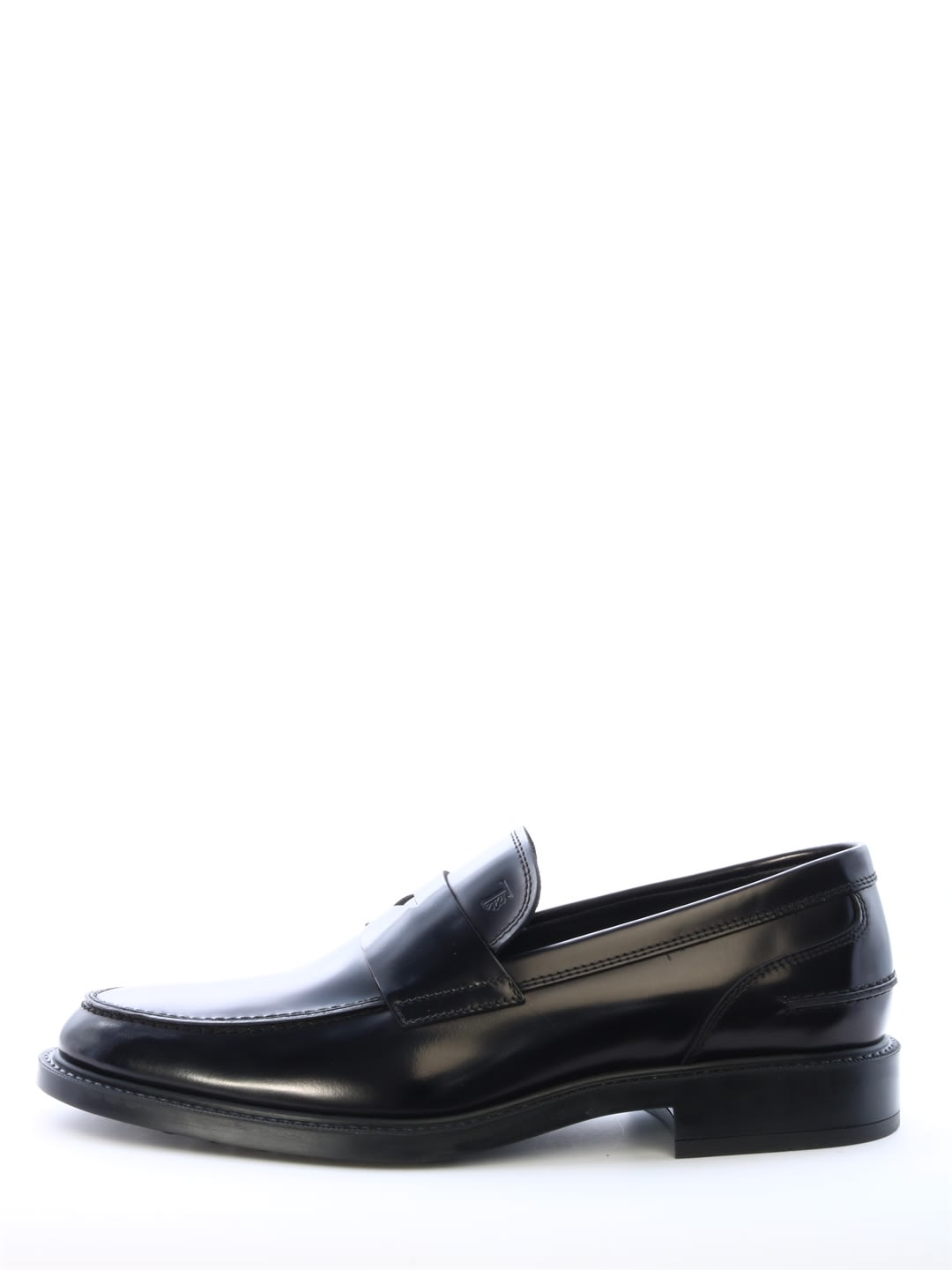 Mocassin in refined smooth leather with embossed mask, monogram Tods and rubber sole with embossed grommets. Composition: 100% Leather