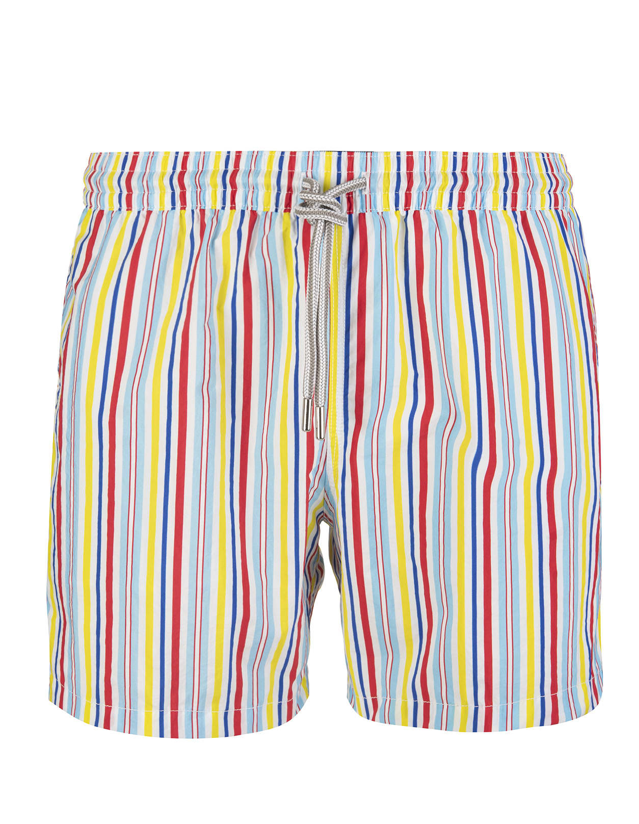 Multicolor Striped Swimsuit
