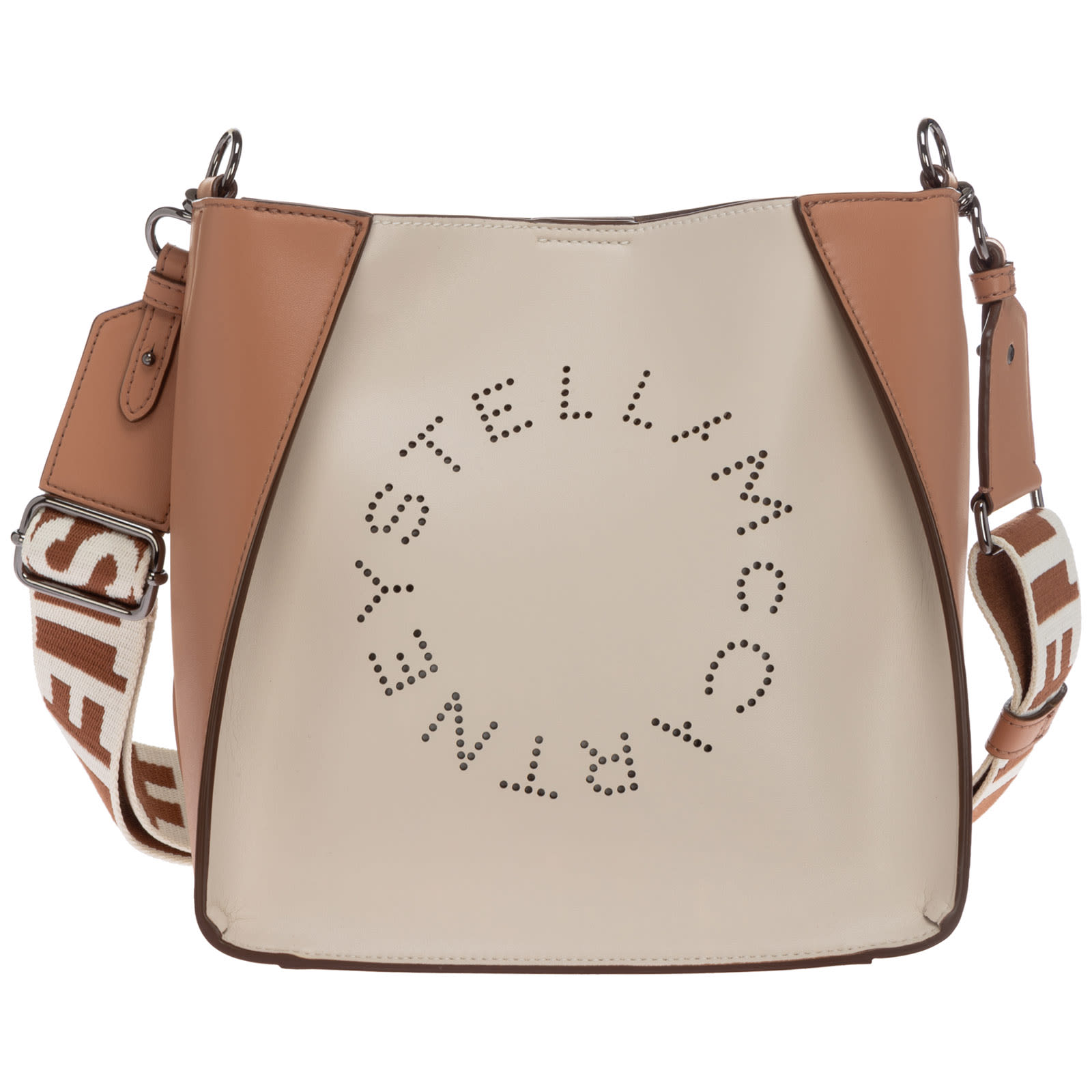 Stella Mccartney STELLA LOGO BUCKET BAG
