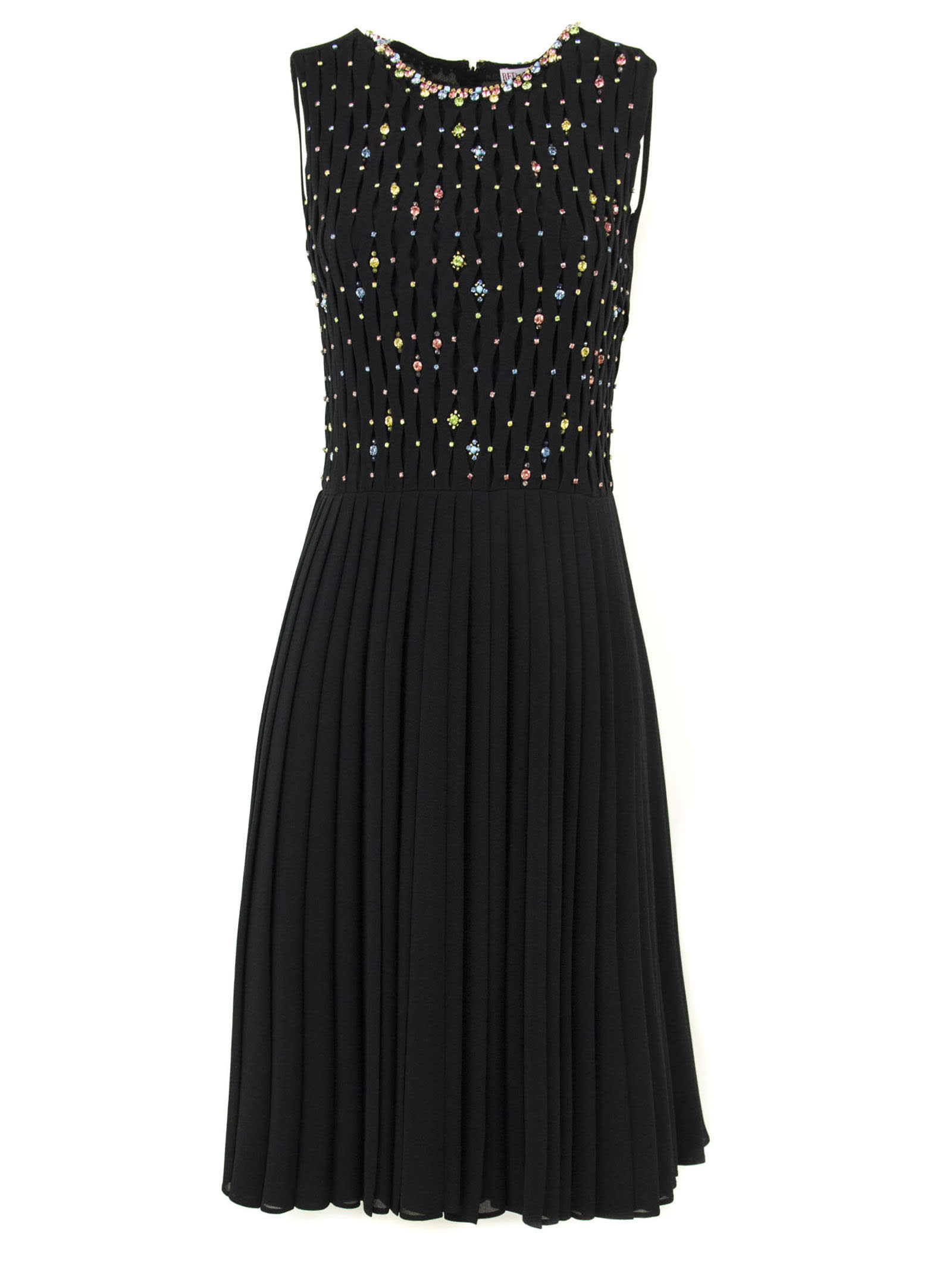 RED Valentino Black Fabric Dress