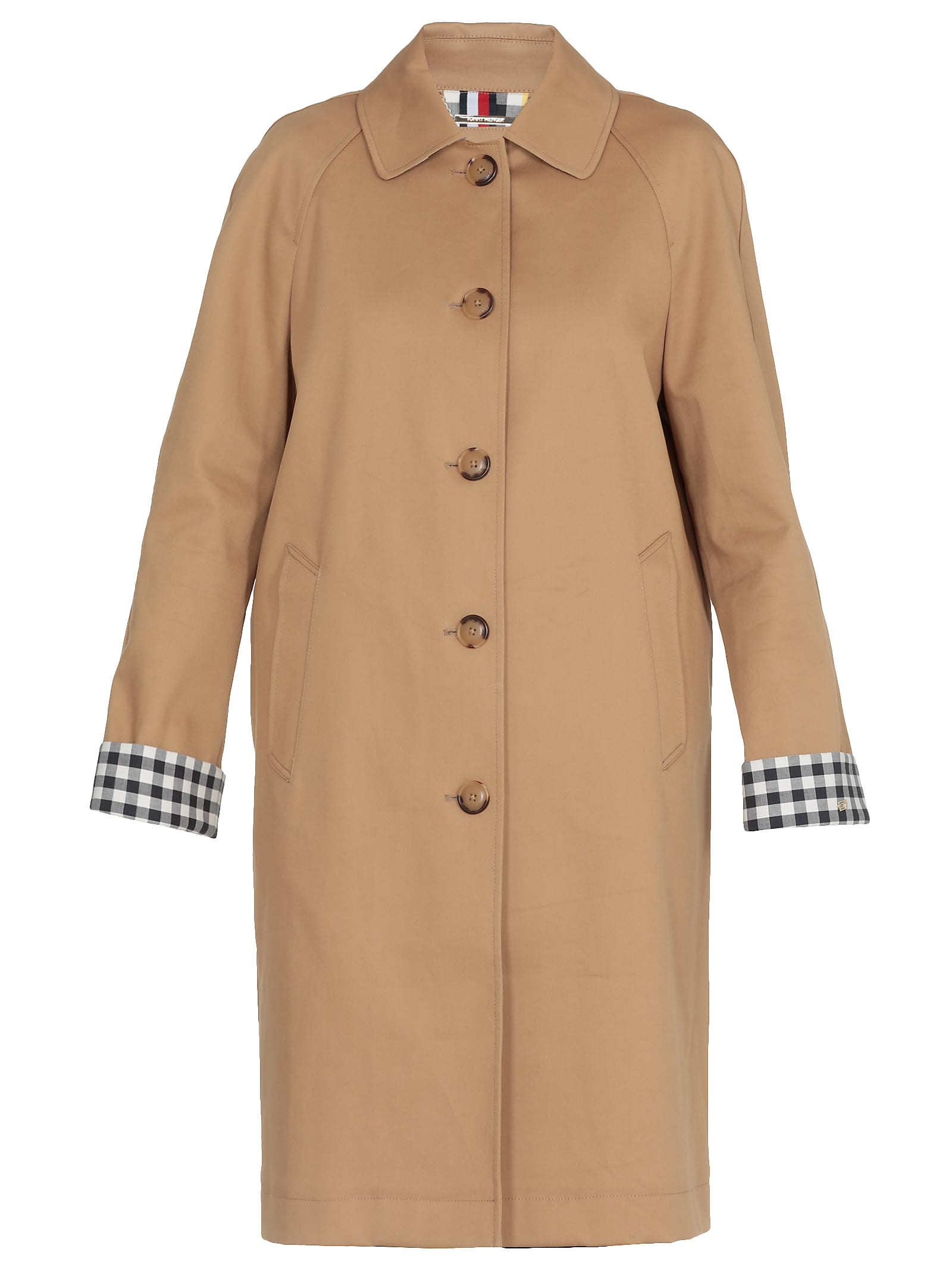 Tommy Hilfiger Cotton Overcoat