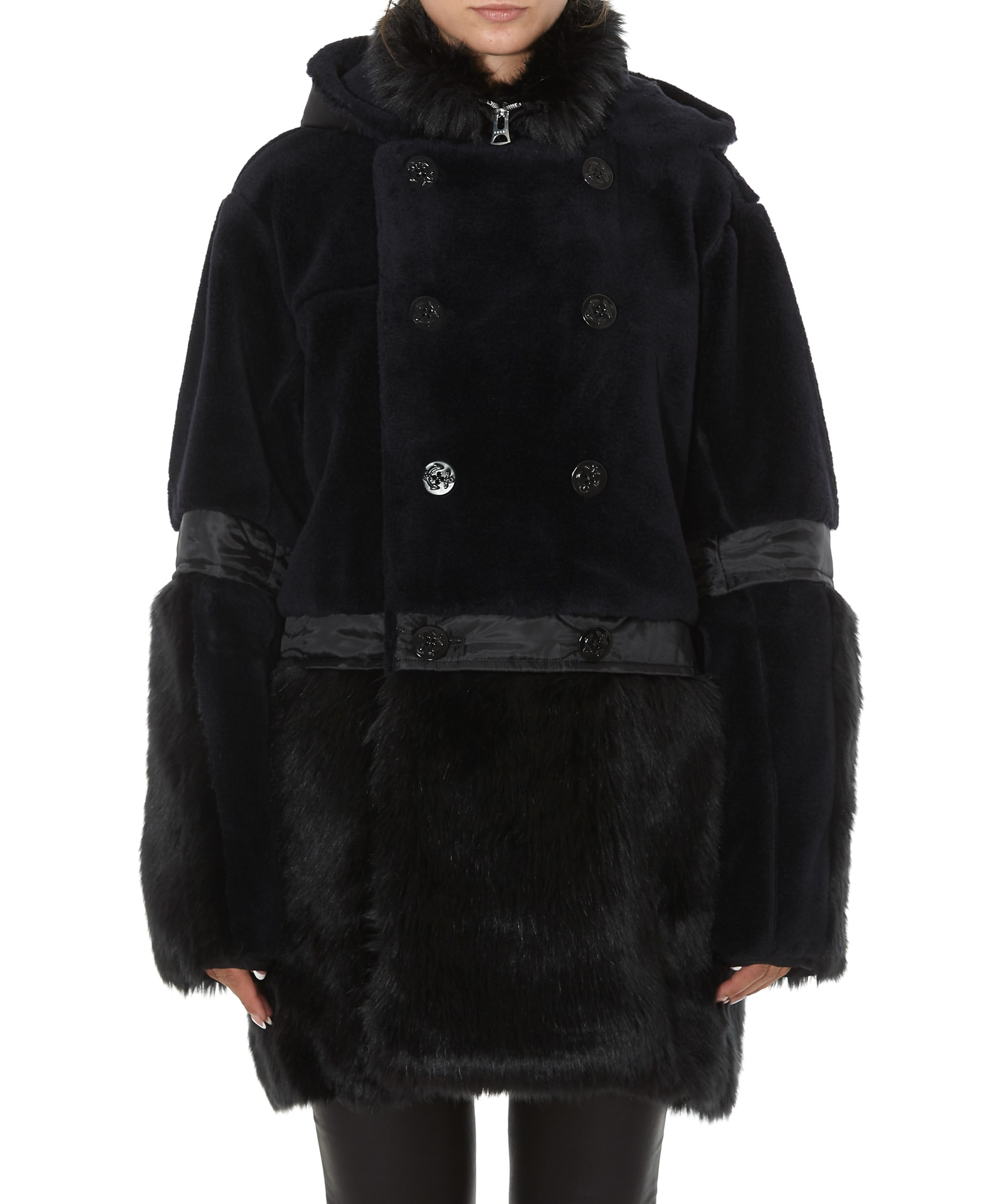 Sacai Faux Fur Coat