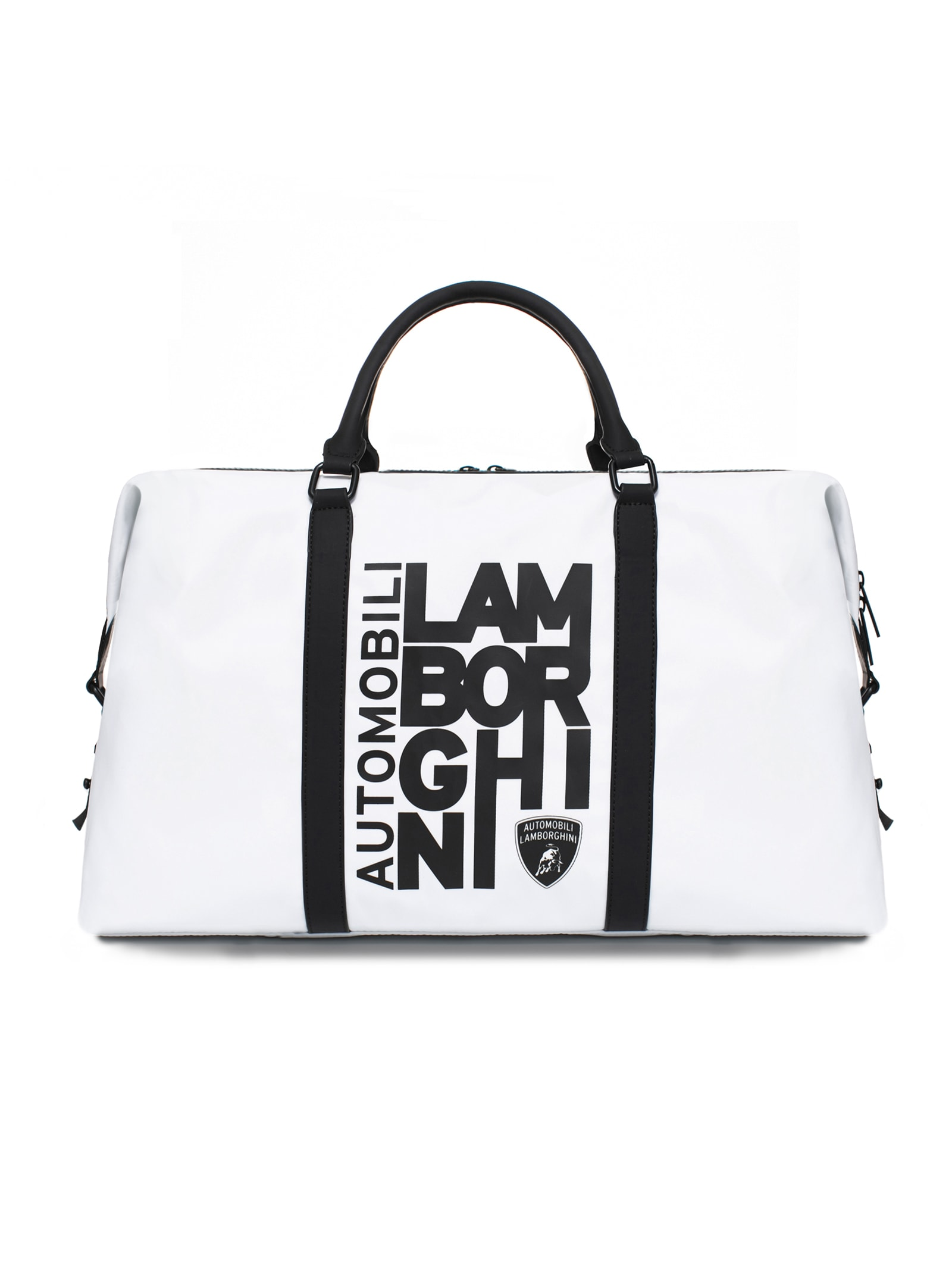 Weekender Bag With Destructured Logo