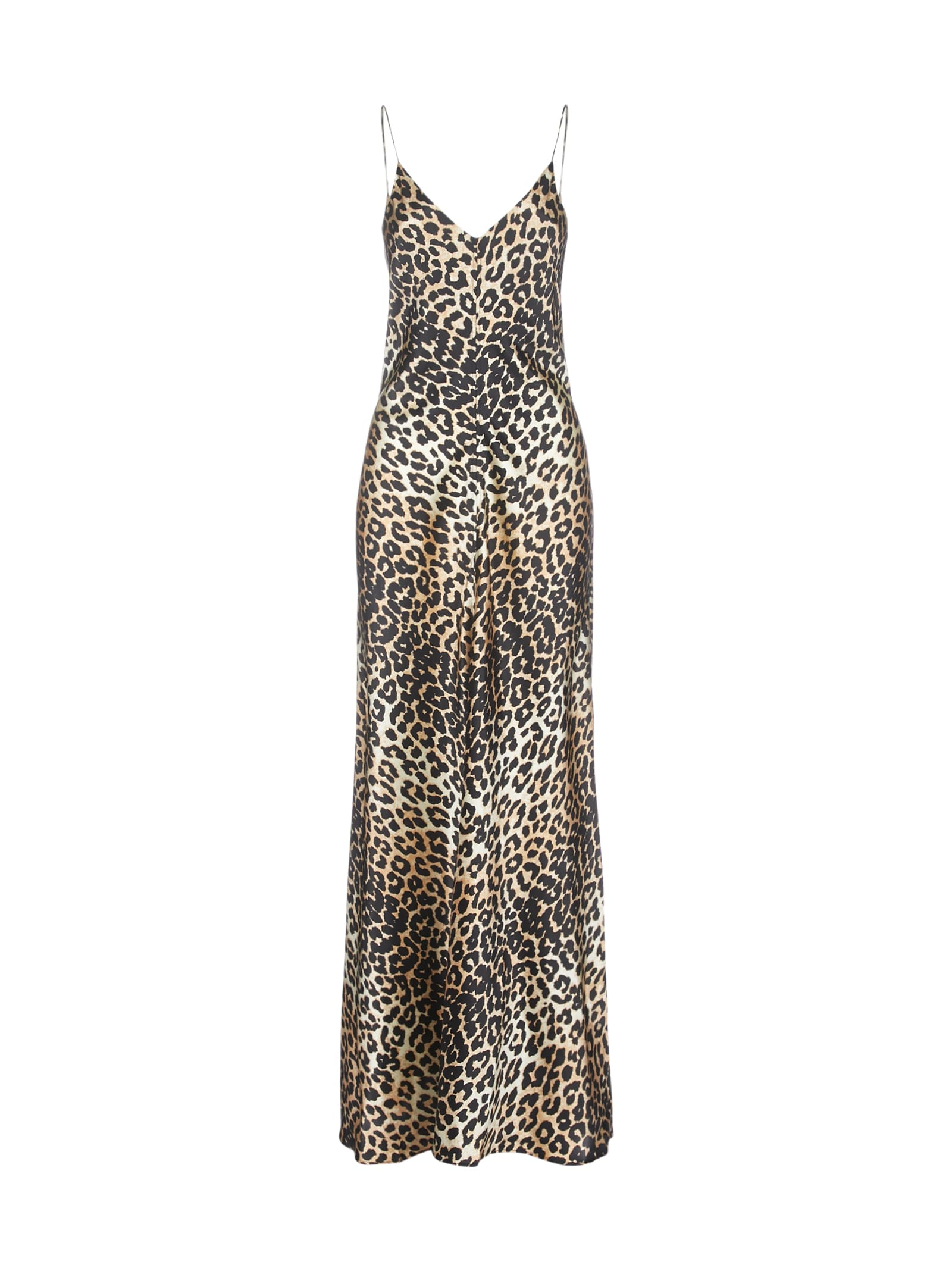 Buy Ganni Lopard Dress online, shop Ganni with free shipping