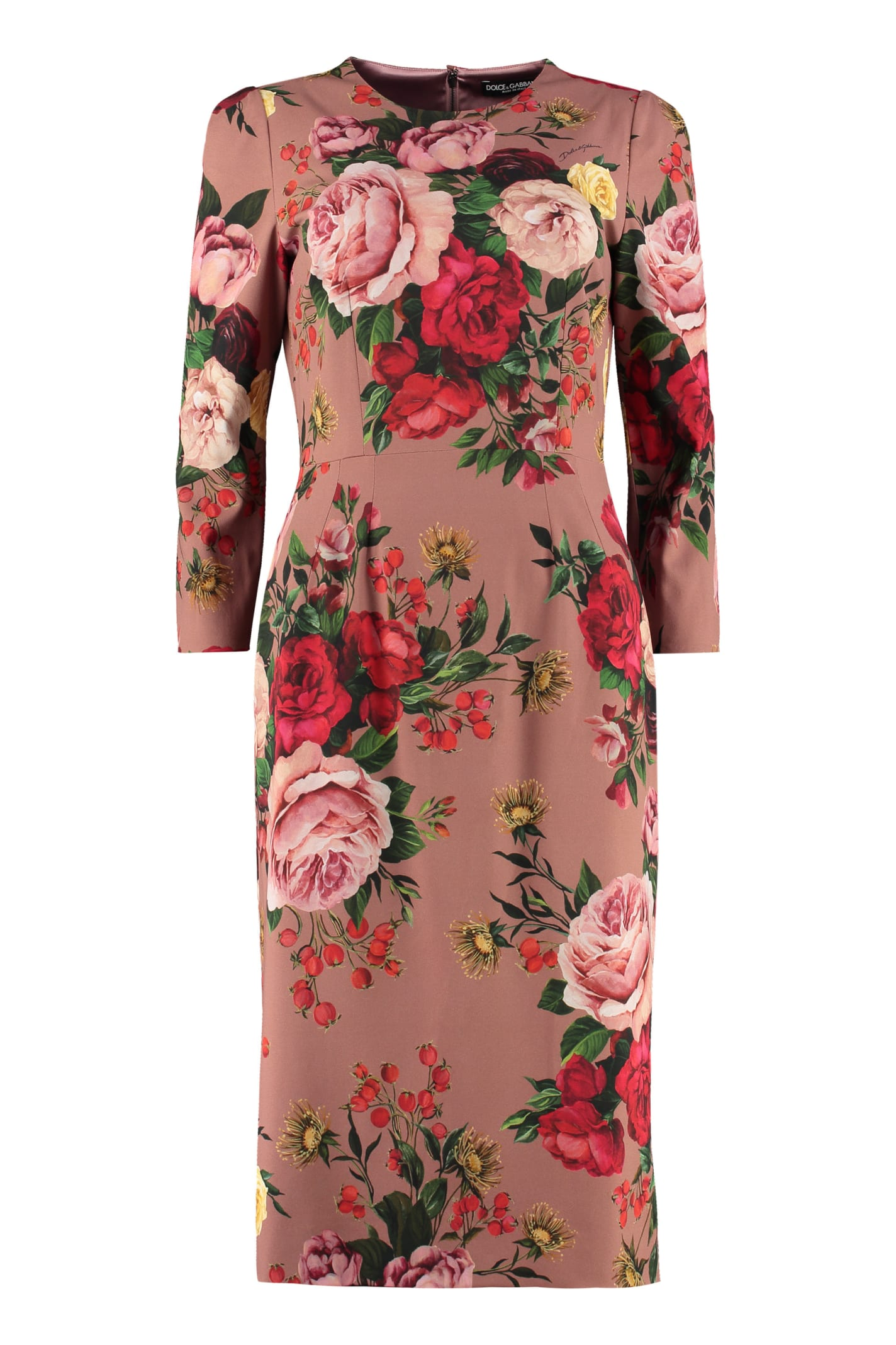 Dolce & Gabbana Dresses FLORAL SHEATH DRESS