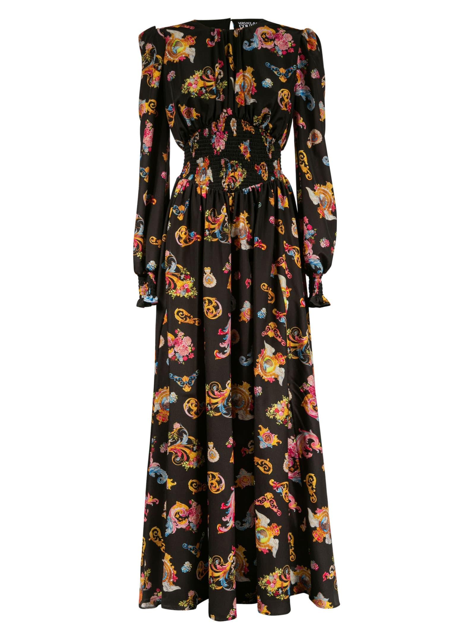 Versace Jeans Couture Maxi dresses MOTIF PRINT LONG DRESS