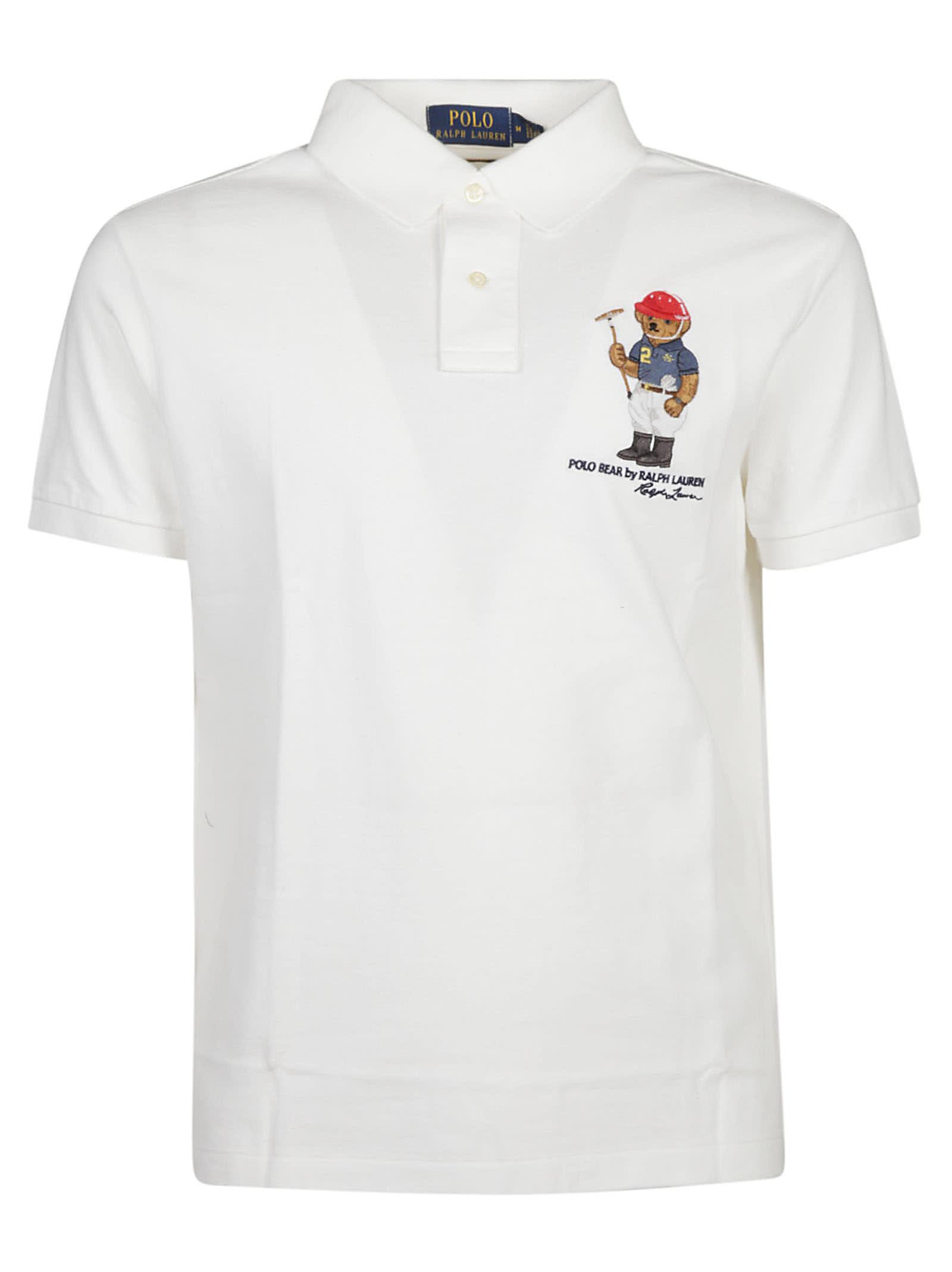 Shirt Print Polo Ralph Bear Lauren mNOn8vw0