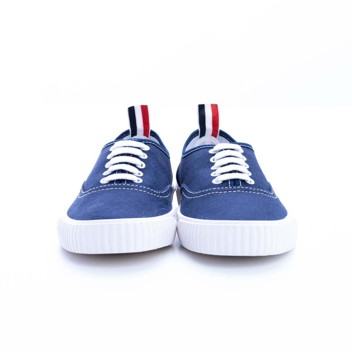 Thom Browne Sneakers COTTON CANVAS HERITAGE SNEAKERS