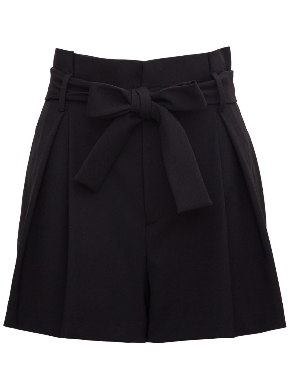 Red Valentino CADY TECH SHORTS WITH BOW