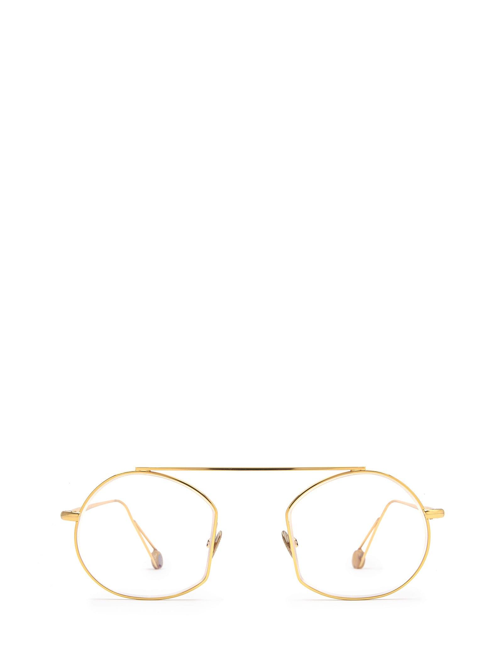 AHLEM Ahlem Place Des Victoires Optic Peony Gold Glasses