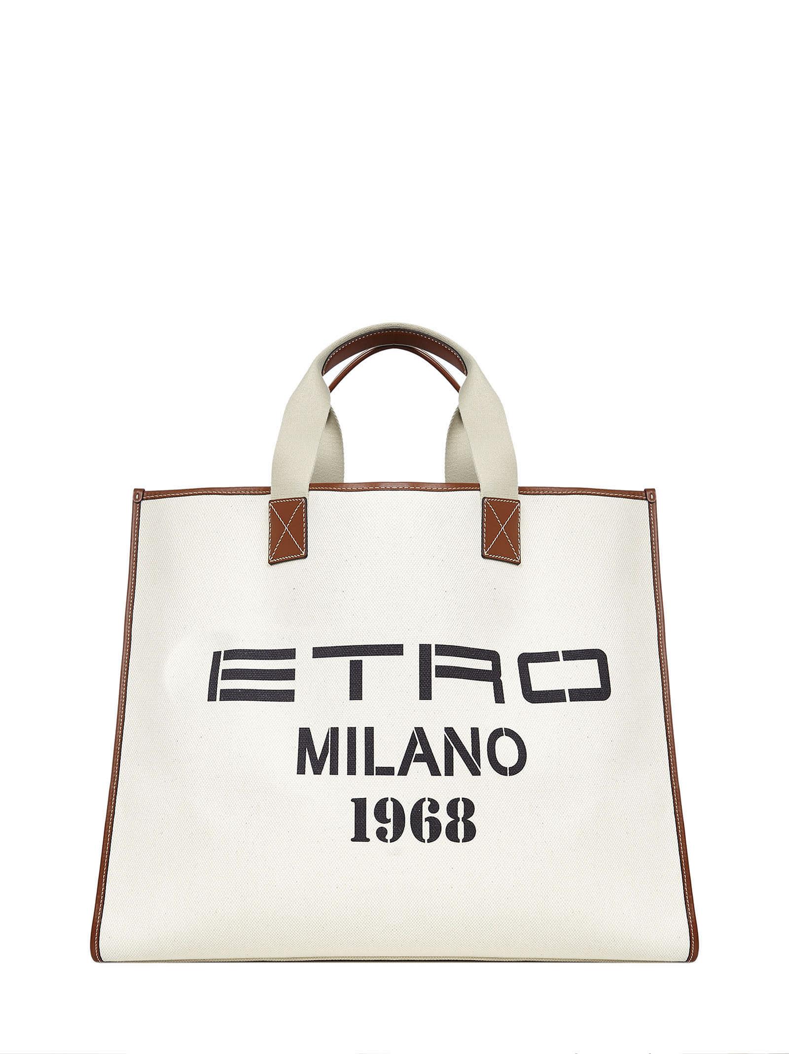 Etro Totes MILANO 1968 TOTE BAG