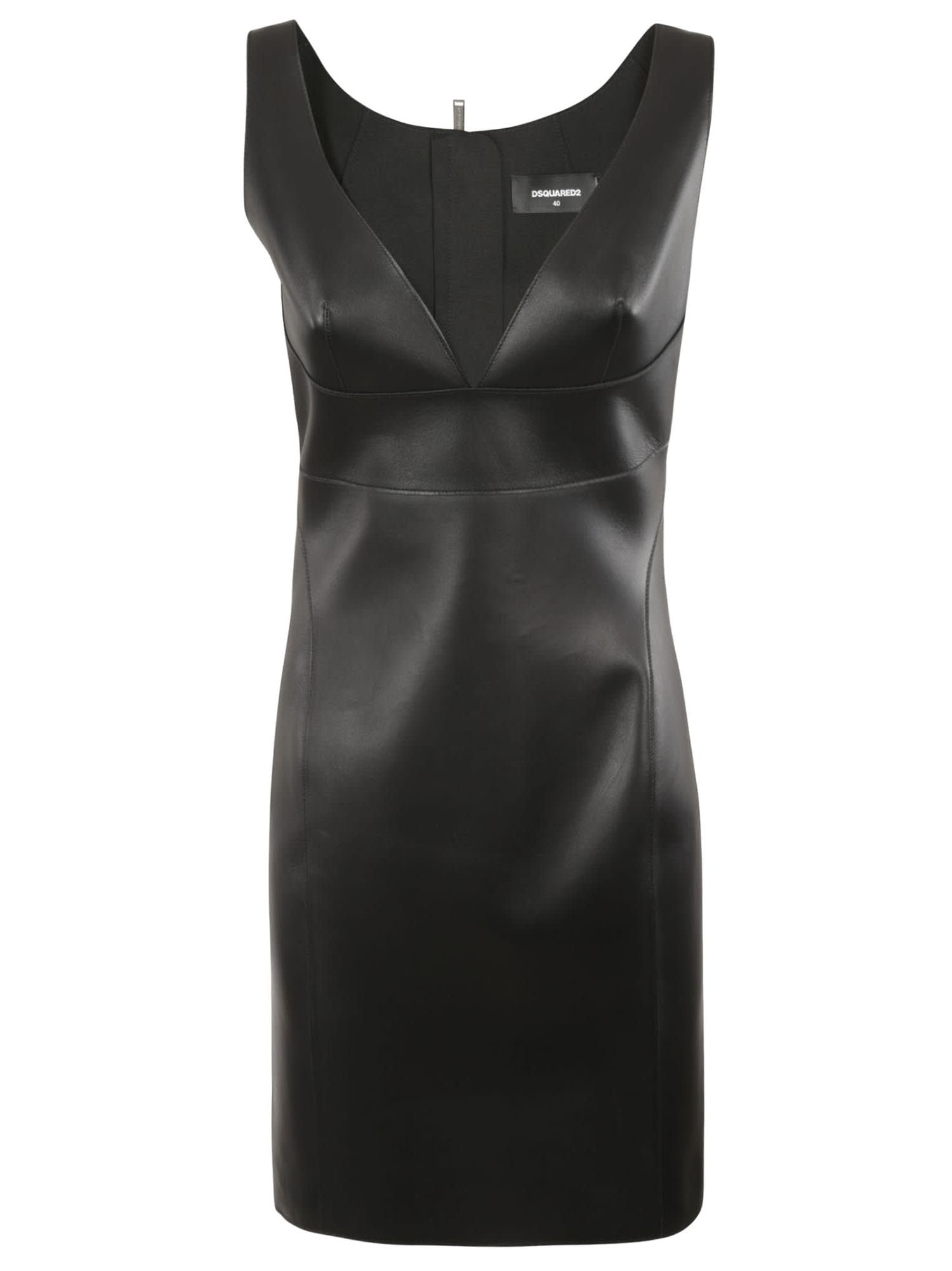 Dsquared2 V-neck Sleeveless Dress