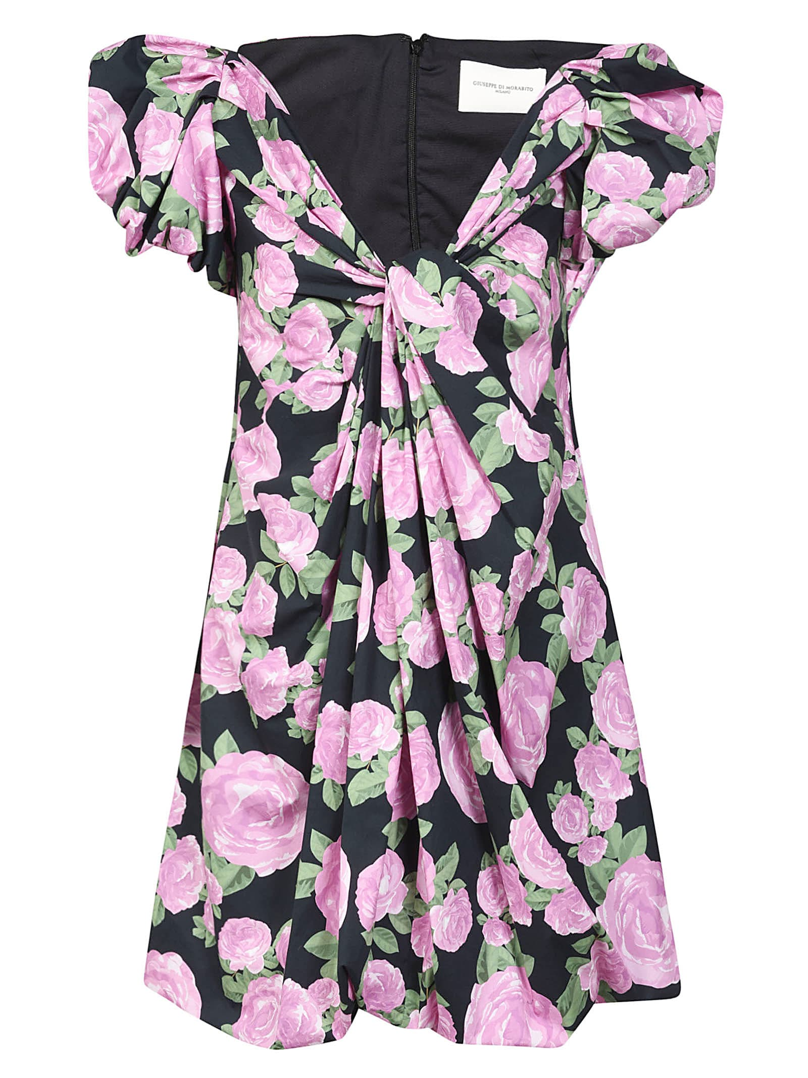 Buy Giuseppe di Morabito Floral Gathered Dress online, shop Giuseppe di Morabito with free shipping