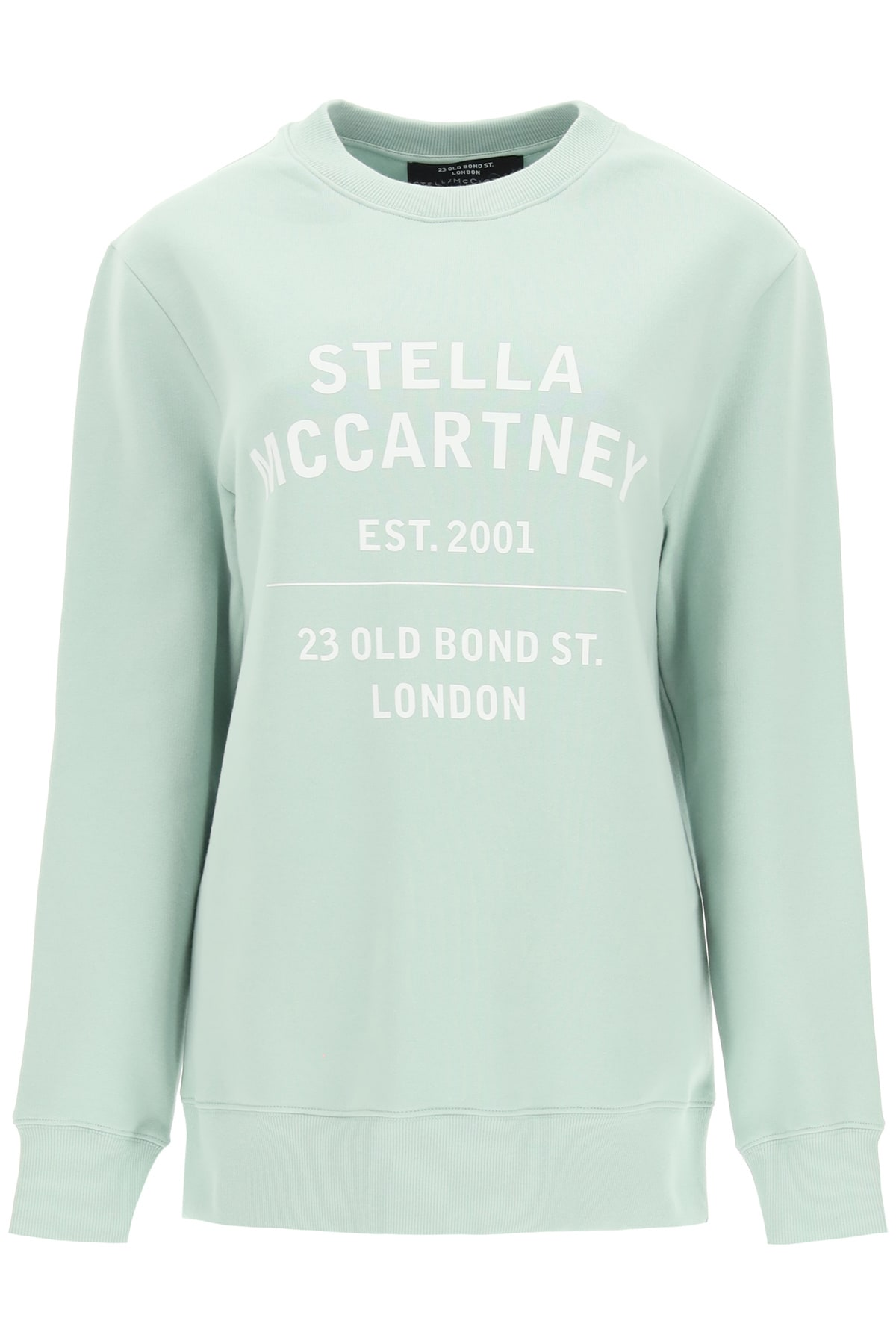 Stella Mccartney 23 OLD BOND STREET CREWNECK SWEATSHIRT