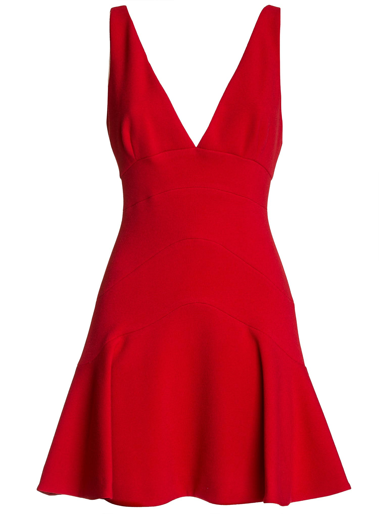 Buy Dsquared2 A-line Short Dress In Red online, shop Dsquared2 with free shipping