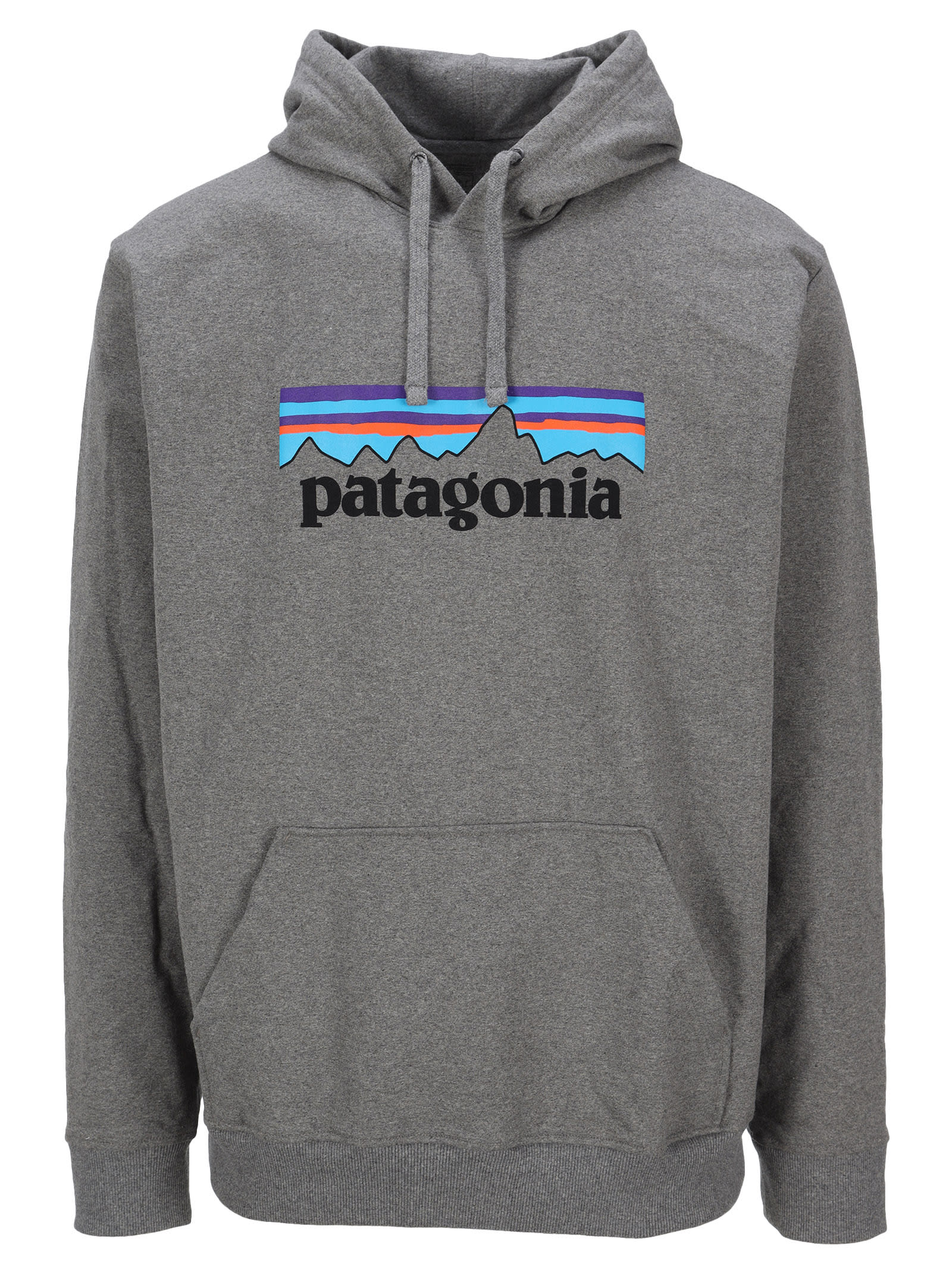 Cotton Blend P-6 Uprisal Hoodie By Patagonia. Featuring: - Drawstring Hood; - Logo Print To The Front; - Kangaroo Pocket; - Long Sleeves; - Ribbed Hem And Cuffs. Composition: 48% RECYCLED COTTON, 47% RECYCLED POLYESTER, 5% ELASTANE