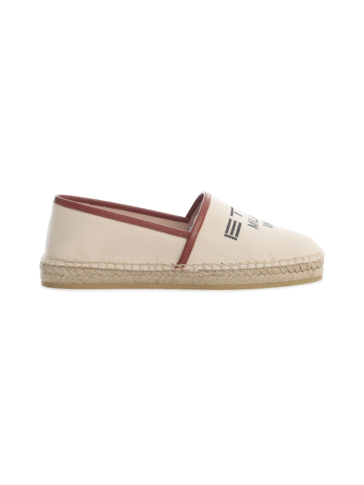 Etro Leathers ESPADRILLAS BOTTOM RUBBER AND ROPE