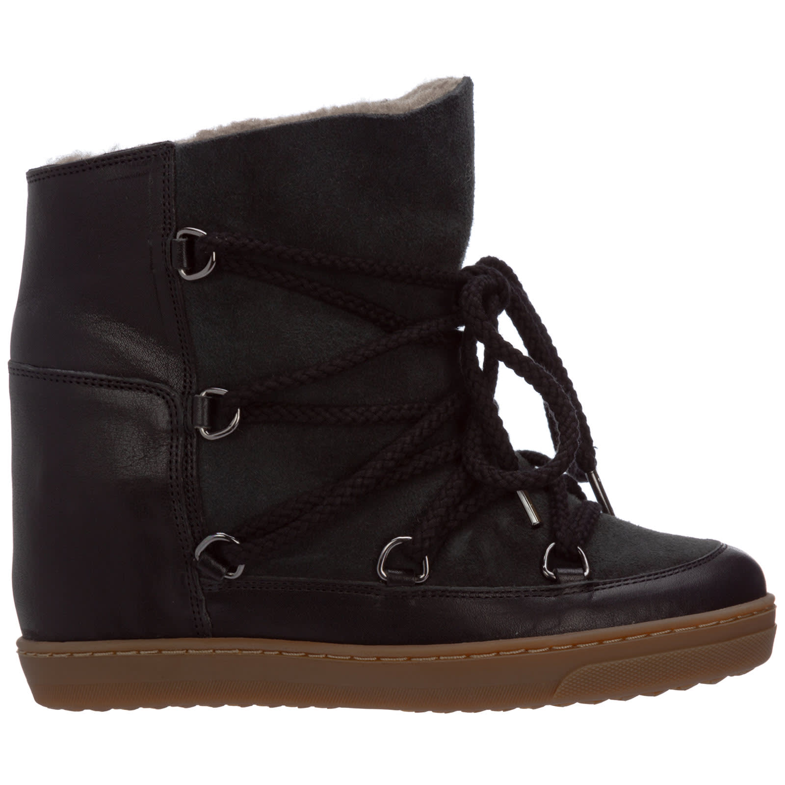 Isabel Marant Leathers NOWLES ANKLE BOOTS
