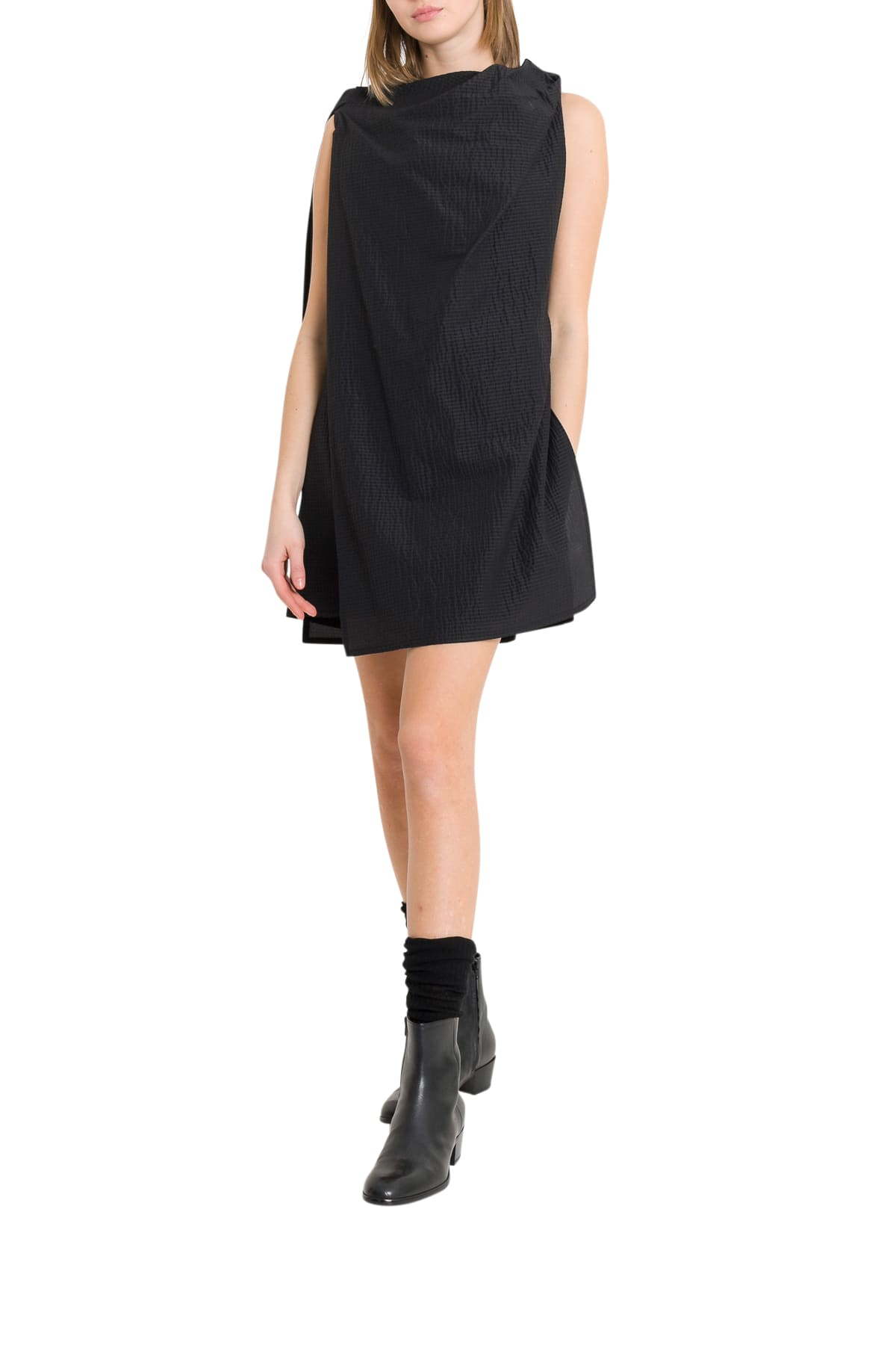 Buy Rick Owens Layering Tunic Dress online, shop Rick Owens with free shipping