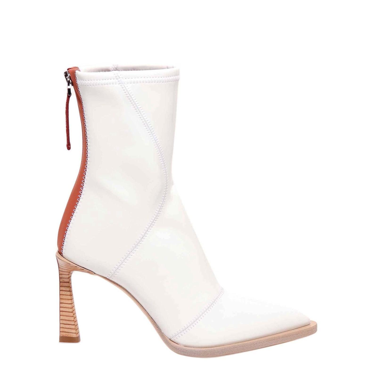 Fendi Fendi Ankle Boots - White