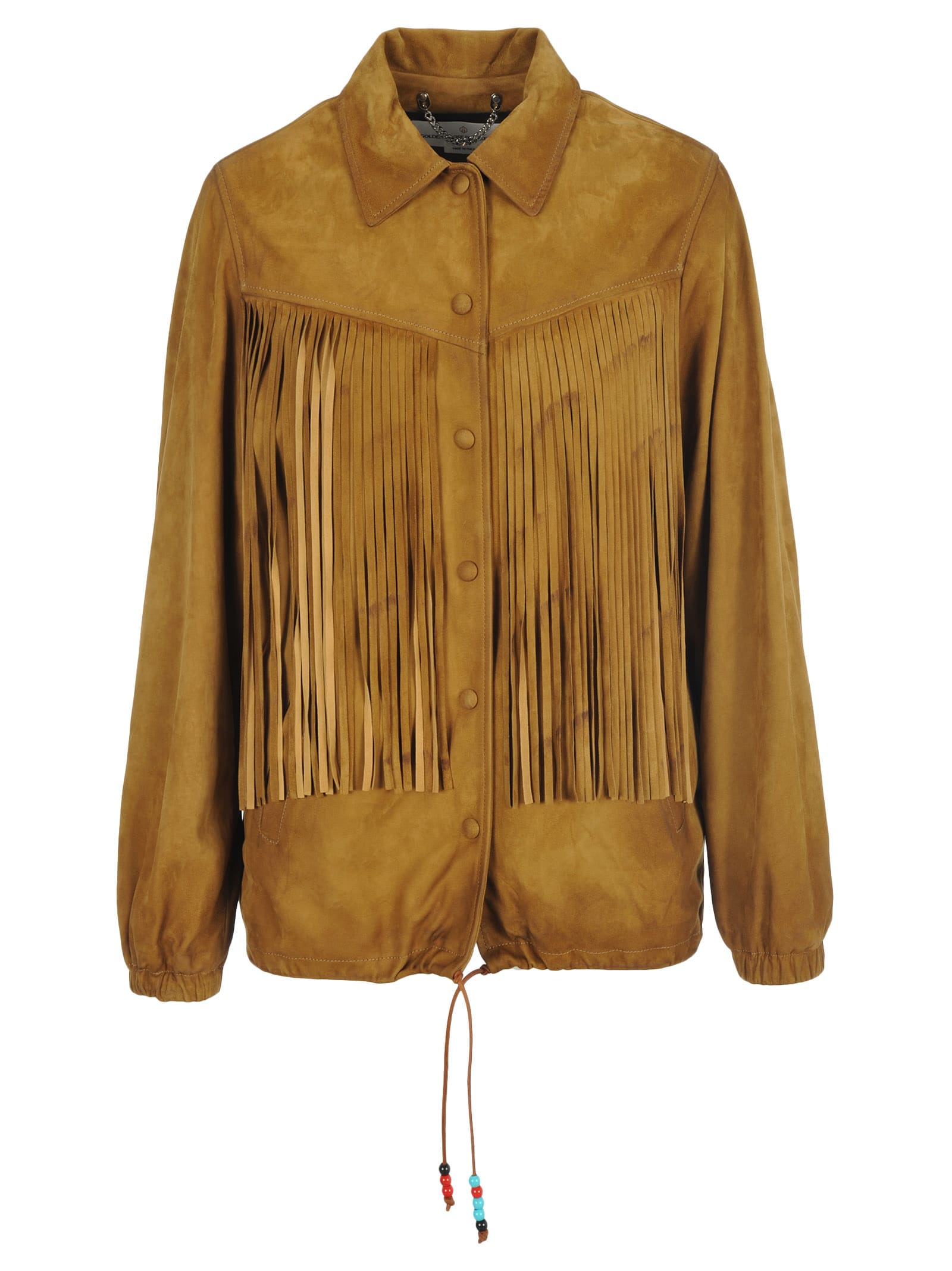 Golden Goose Ayumi Suede Leather Jacket