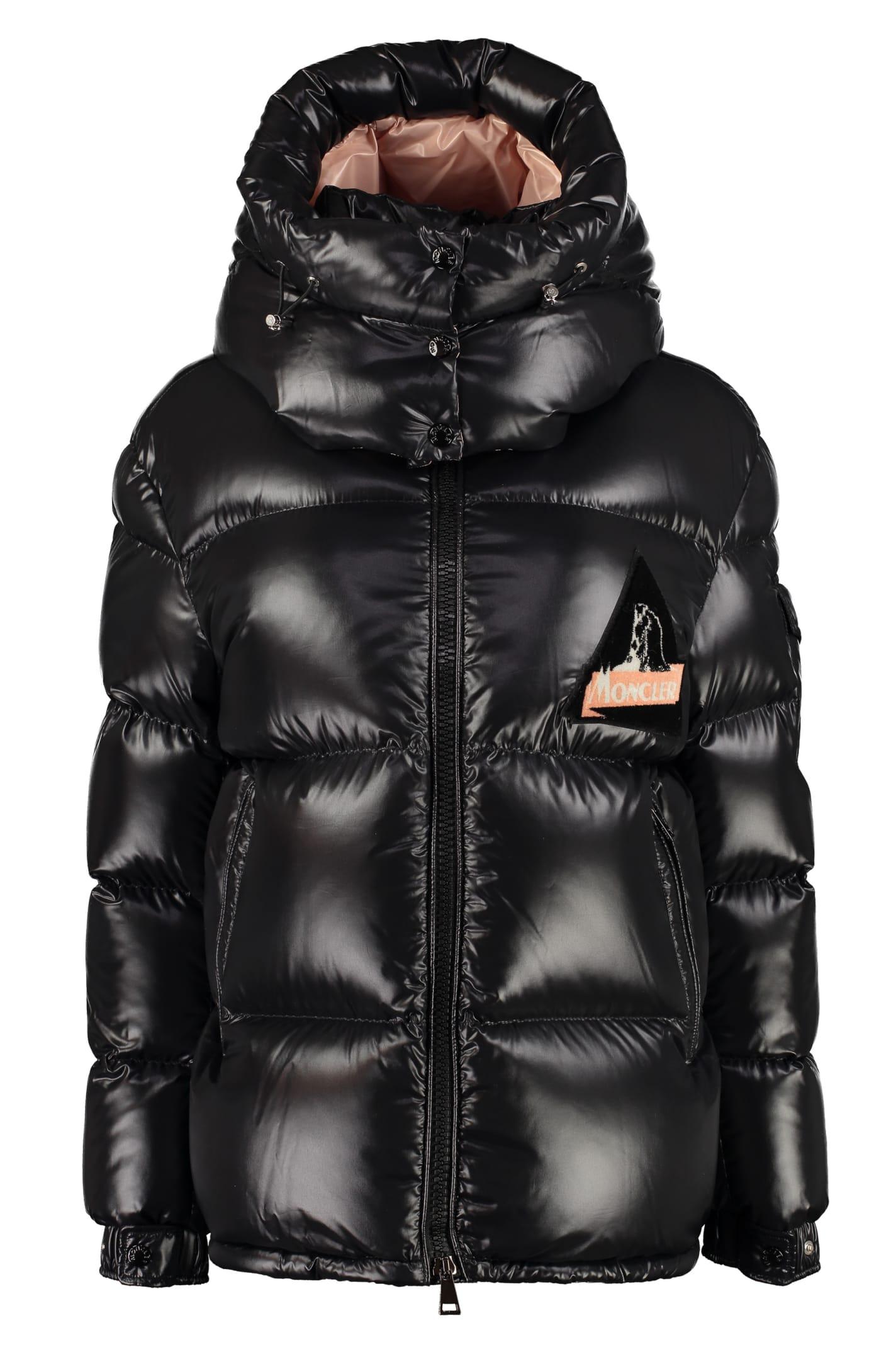 Moncler Wilson Full Zip Padded Hooded Jacket