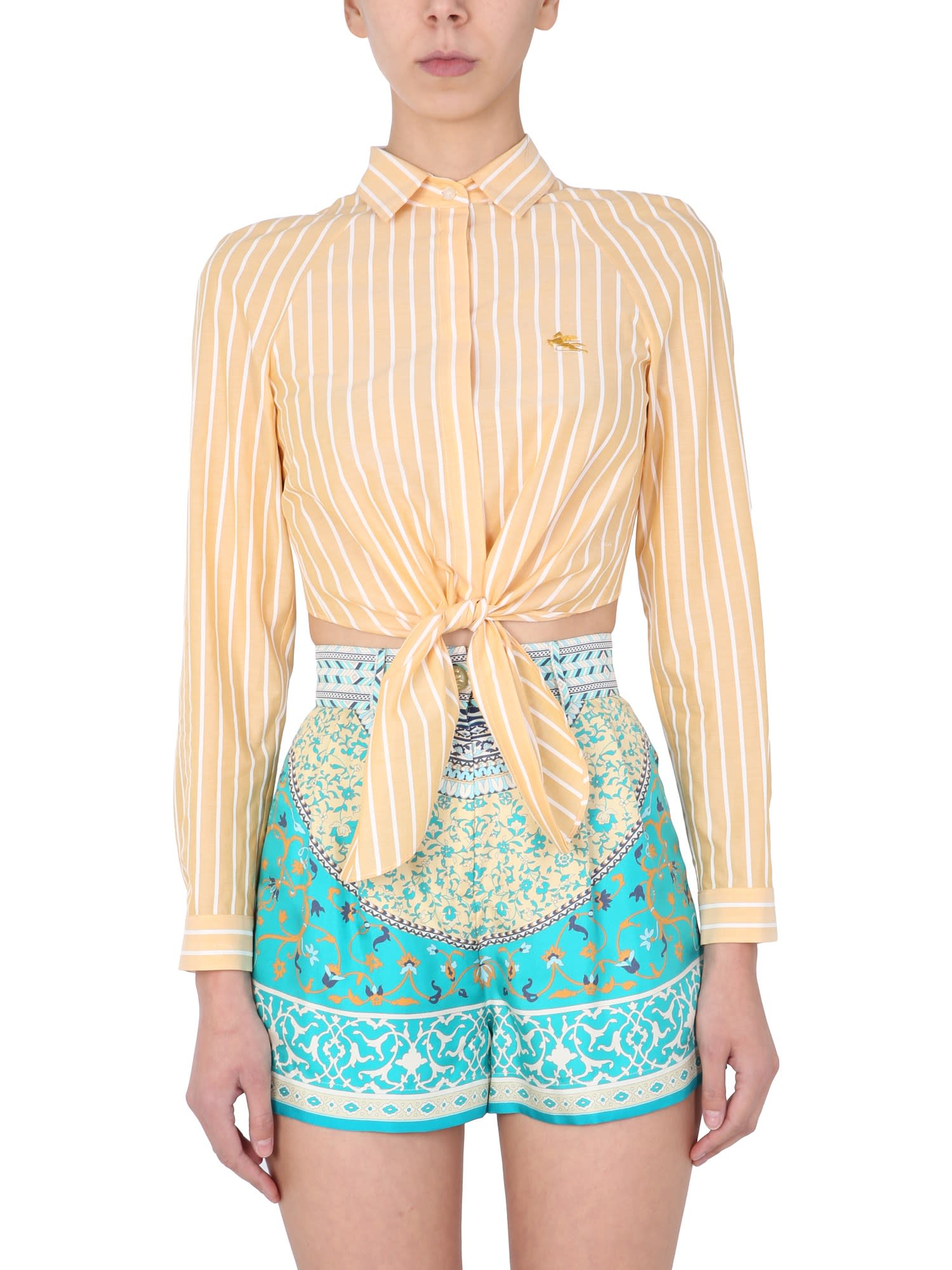 Etro Shirts SHIRT WITH KNOT