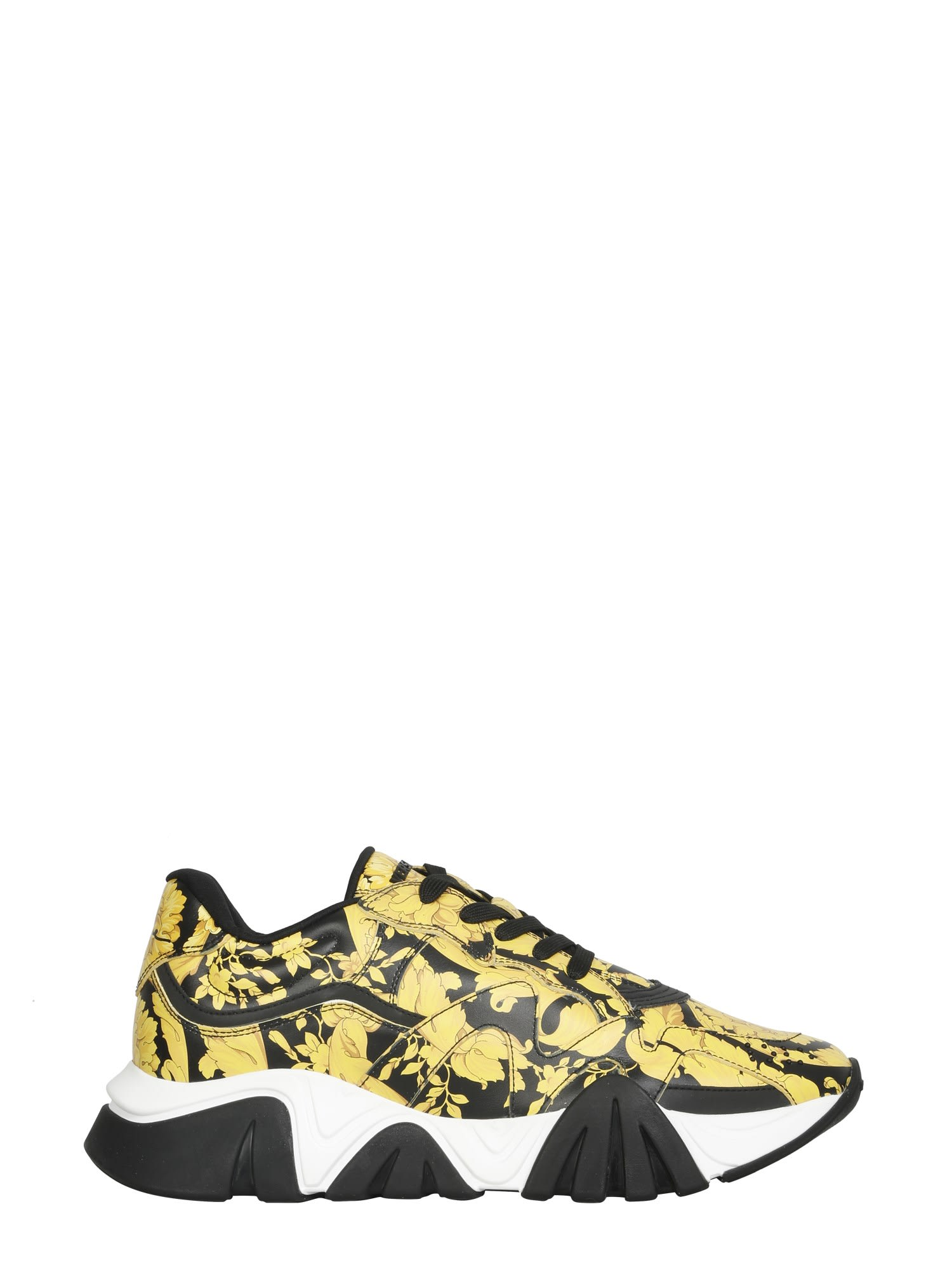 Versace Shark Sneakers In Multicolor
