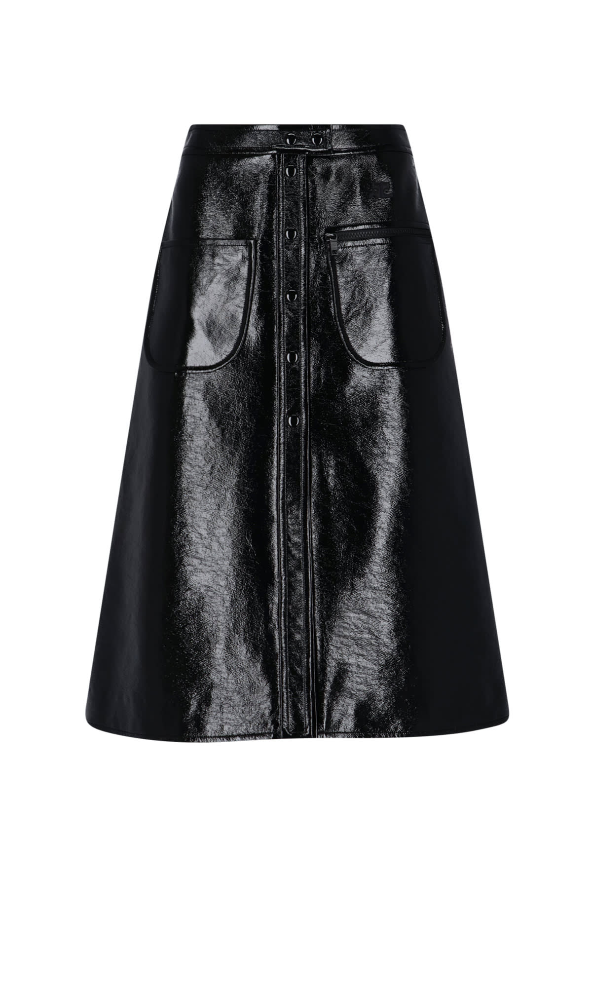 Courrges Skirt In Black