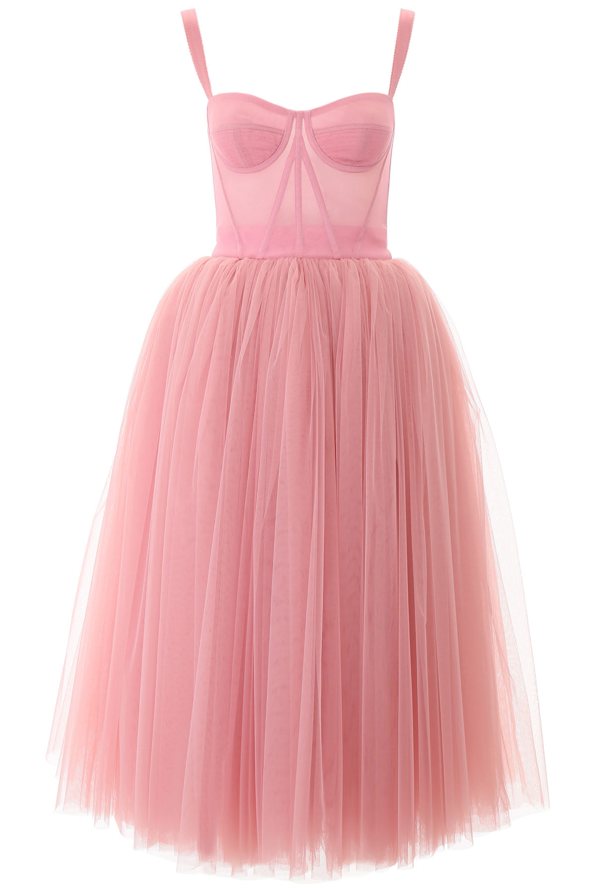 Buy Dolce & Gabbana Tulle Ballerina Dress online, shop Dolce & Gabbana with free shipping