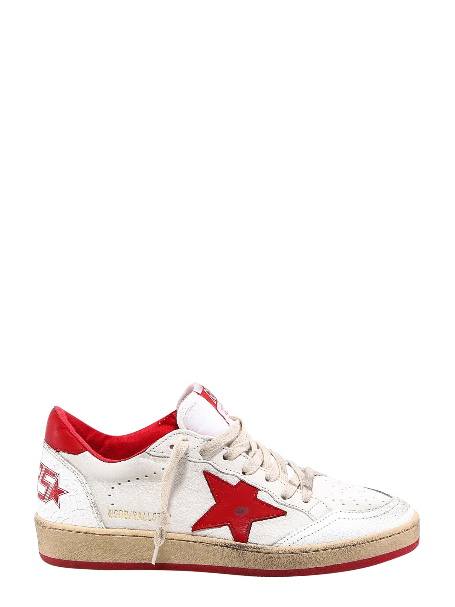 Buy Golden Goose Ball Star Sneakers online, shop Golden Goose shoes with free shipping