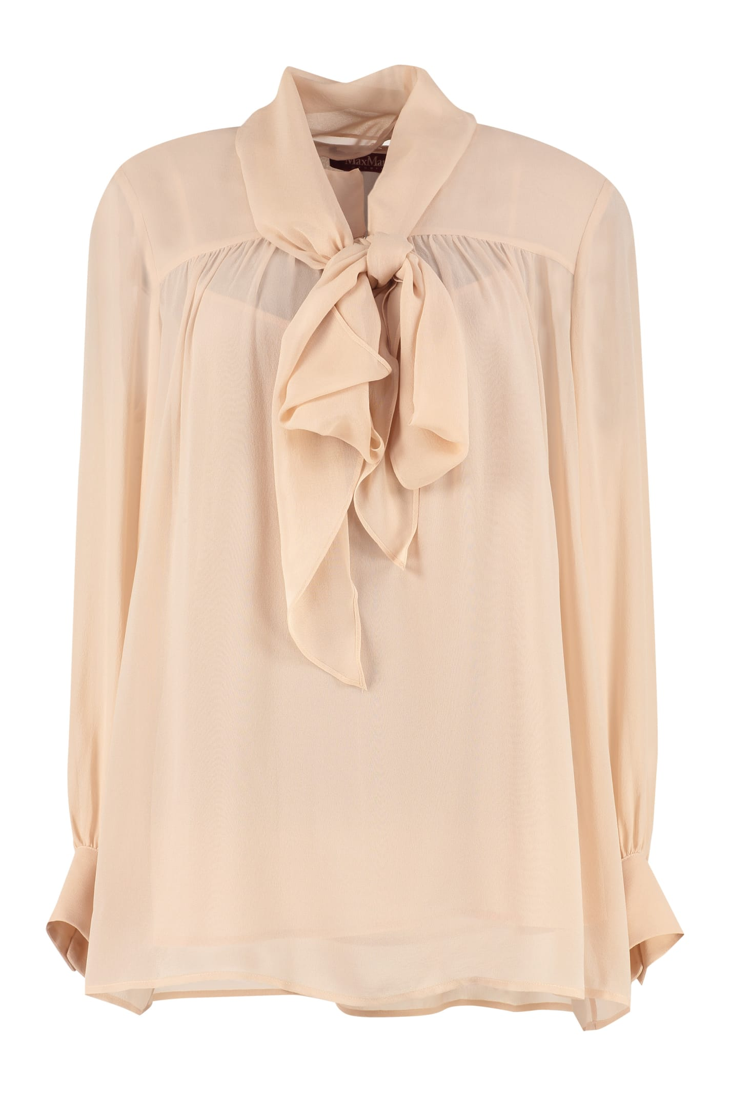 Max Mara Studio Silk Georgette Blouse