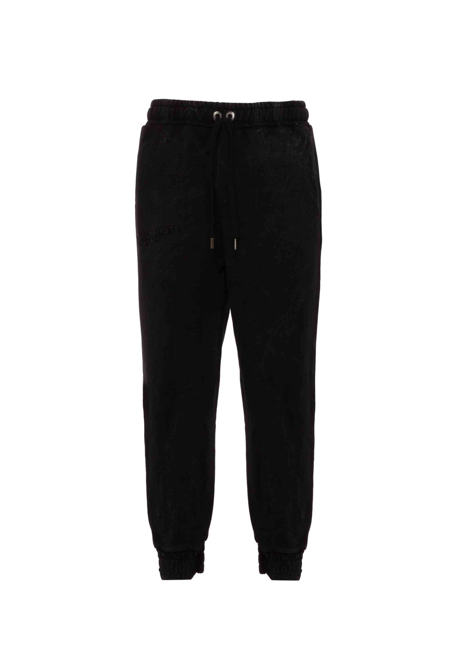 Jogger Pants Logo Black