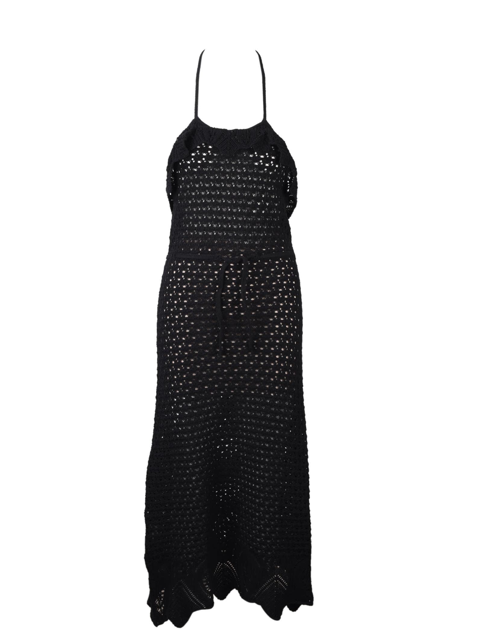 Buy Pinko Autorete Crochet Dress online, shop Pinko with free shipping