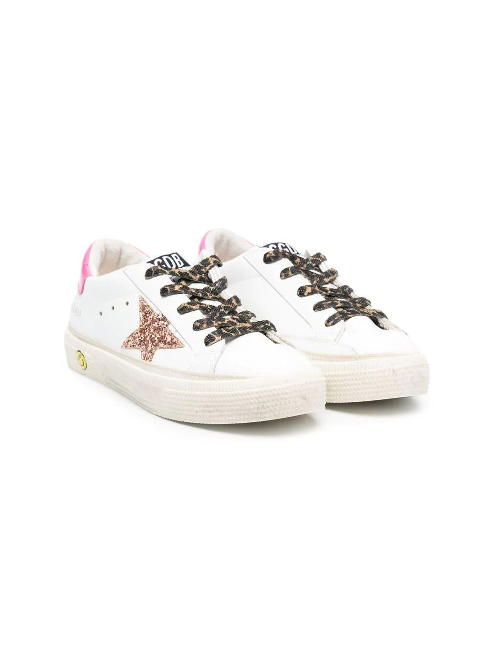 Buy Golden Goose Sneakers With Spotted Laces online, shop Golden Goose shoes with free shipping