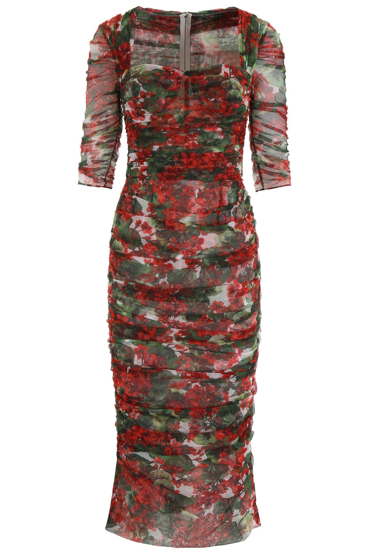 Dolce & Gabbana Portofino Tulle Dress