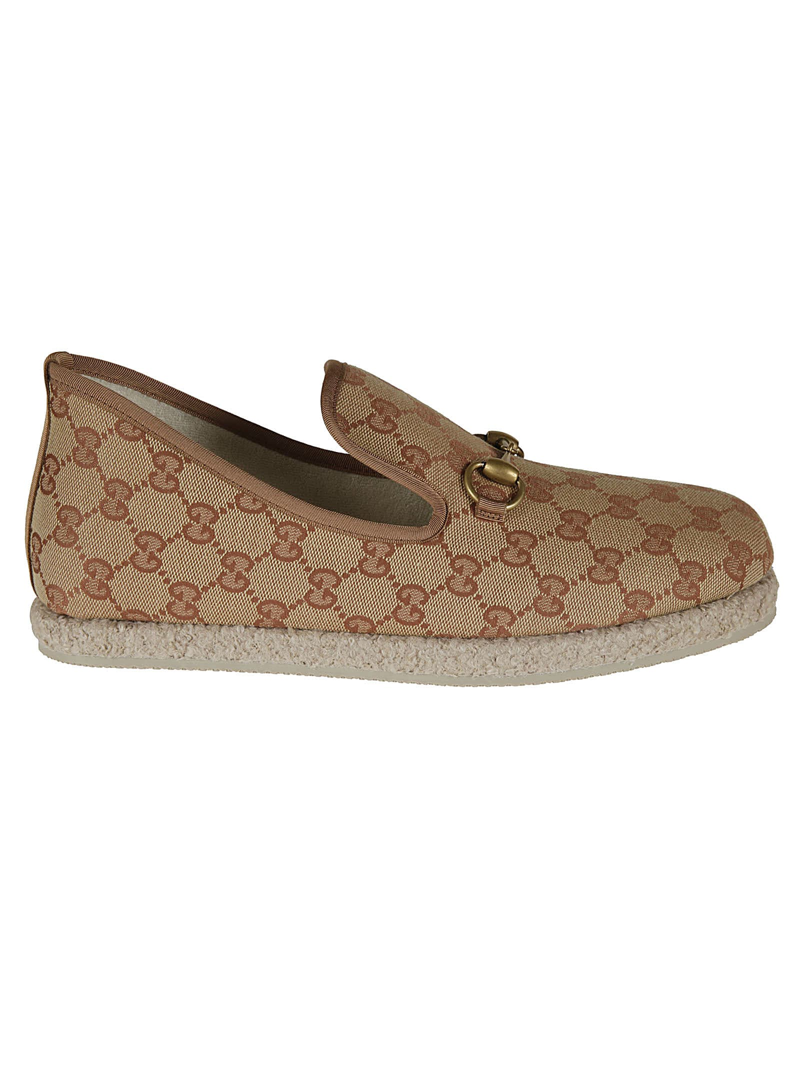 Gucci Logo Plaque Slip-on Sneakers