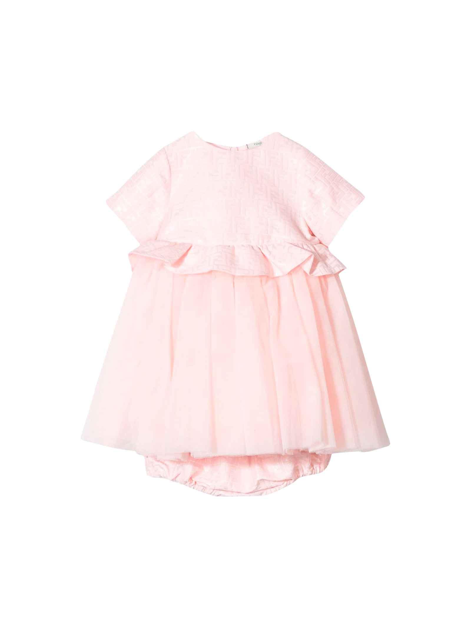 Fendi Baby Pink Dress