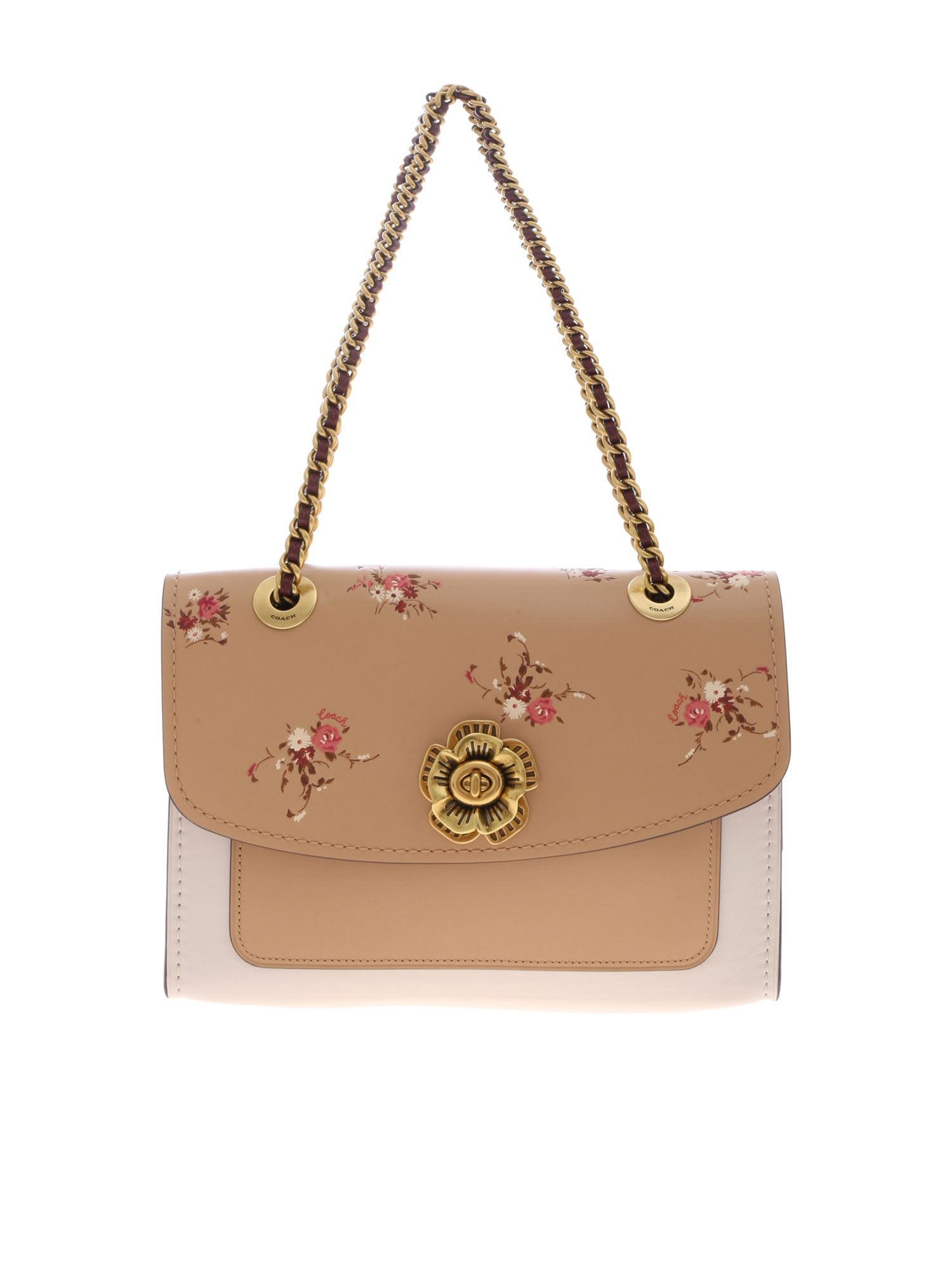 ec5e46f2c8 Coach Floral Shoulder Bag