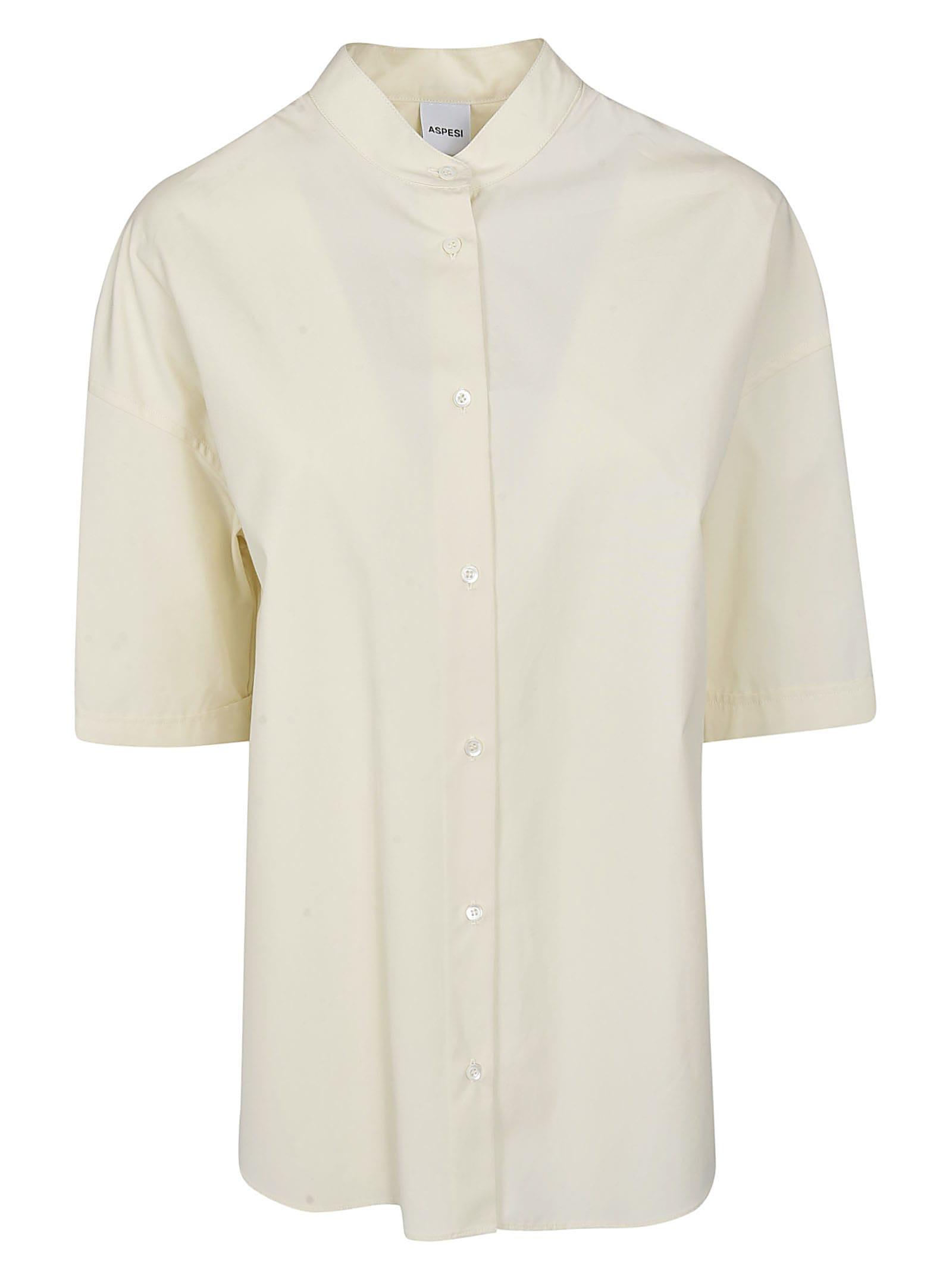 Aspesi Round Collar Shirt