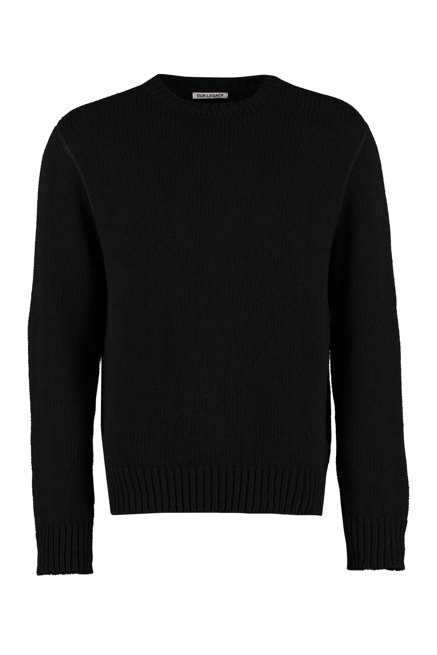 Our Legacy Tops BASE WOOL AND CASHMERE PULLOVER