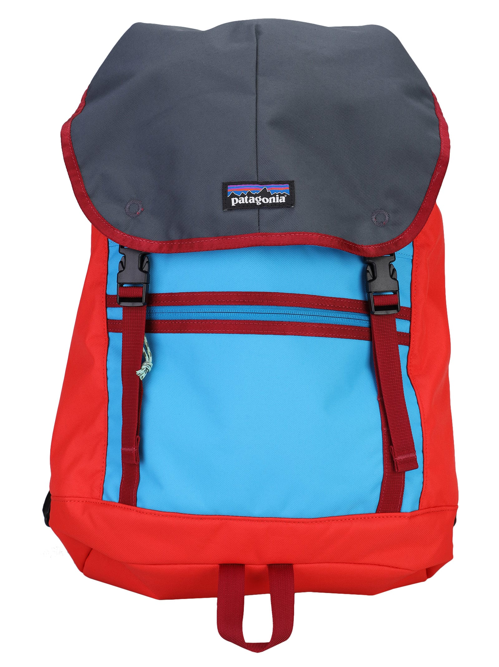 Multicolor Arbor 25l Backpack By Patagonia. Featuring: - Top Handle; - Foldover Top With Double Buckle Fastening; - Drawstring Fastening; - Logo Patch To The Front; - Front Zip Pocket; - Colour Block Design; - Adjustable Shoulder Straps. Composition: 100% RECYCLED POLYESTER